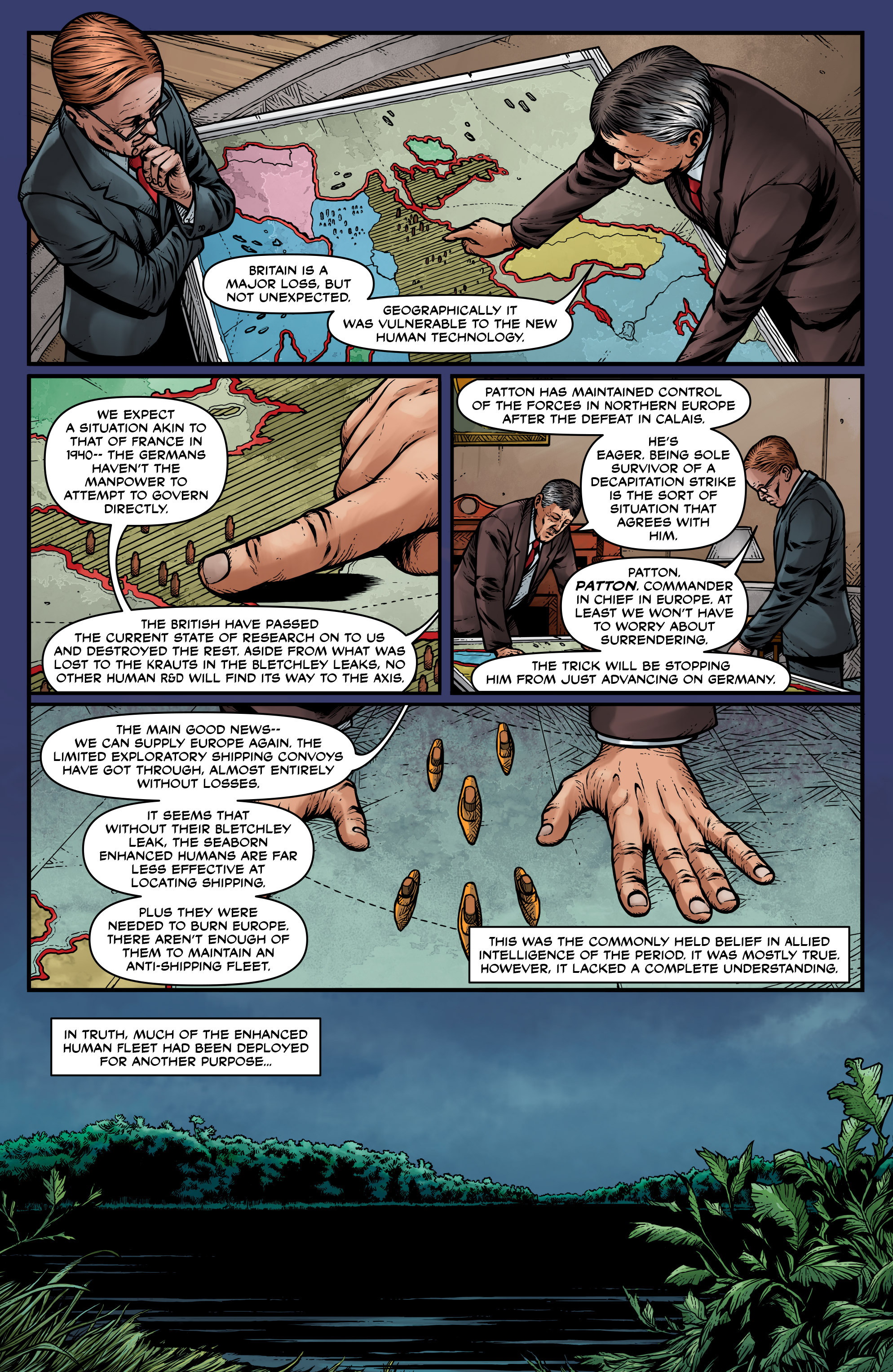Read online Uber: Invasion comic -  Issue #1 - 5