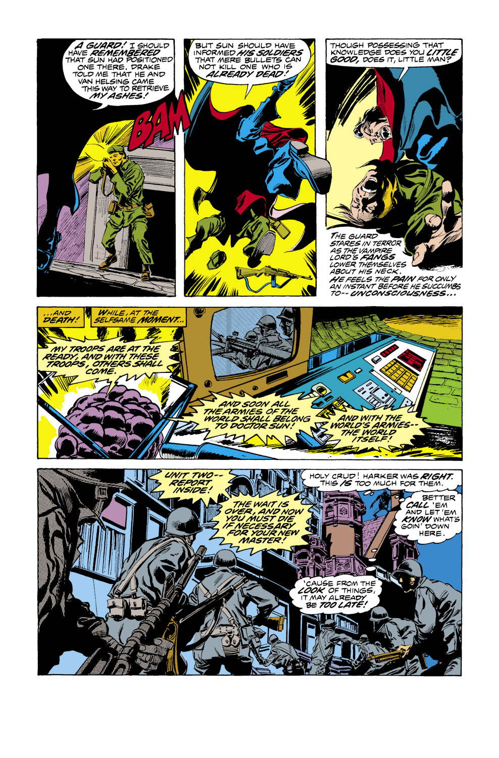 Tomb of Dracula (1972) issue 41 - Page 14