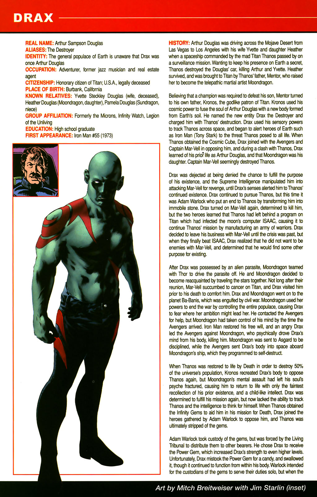 Read online All-New Official Handbook of the Marvel Universe A to Z comic -  Issue #3 - 64