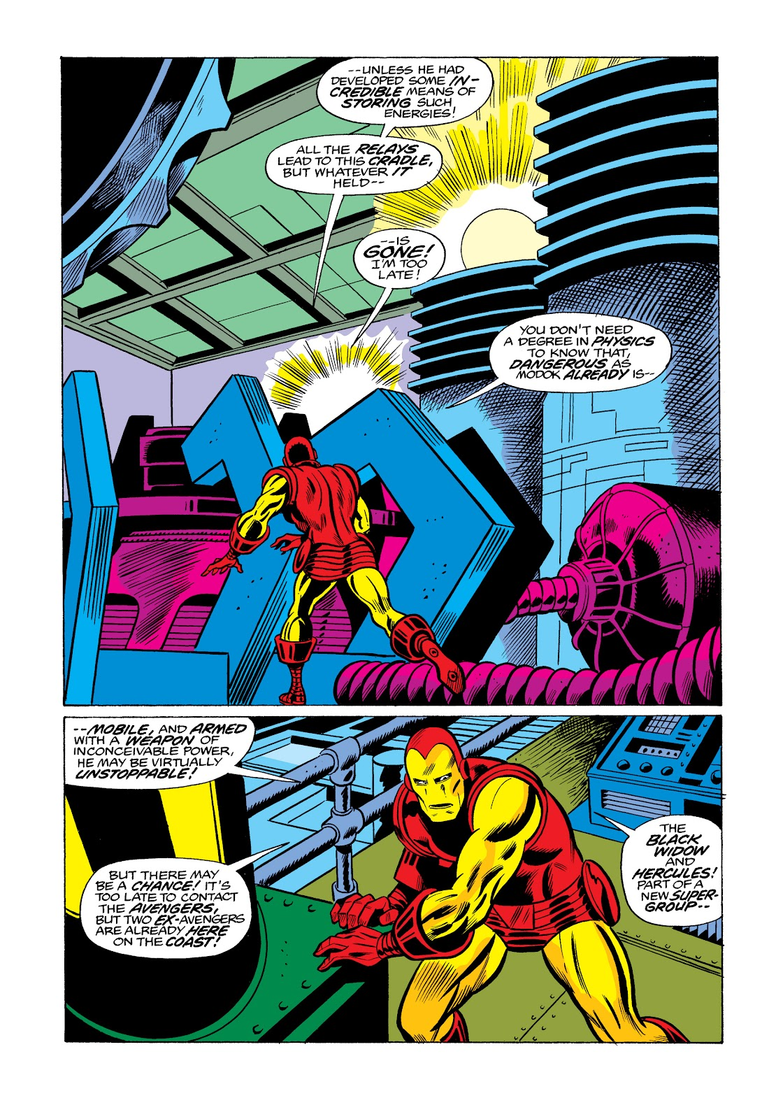 Read online Marvel Masterworks: The Invincible Iron Man comic -  Issue # TPB 11 (Part 3) - 91