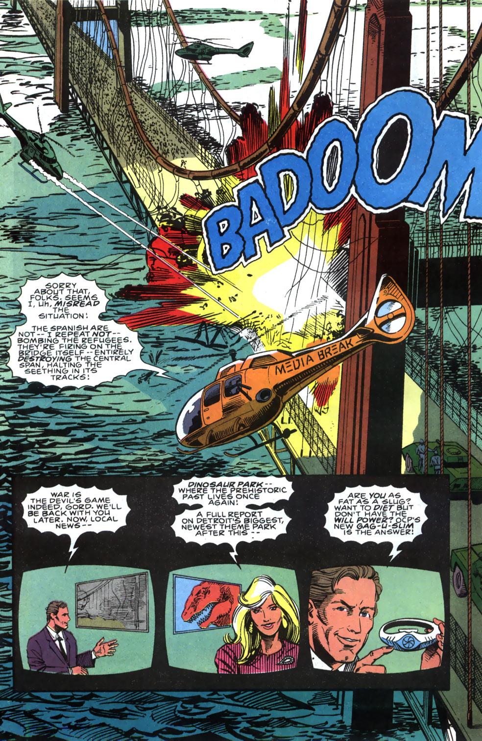 Read online Robocop (1990) comic -  Issue #5 - 16