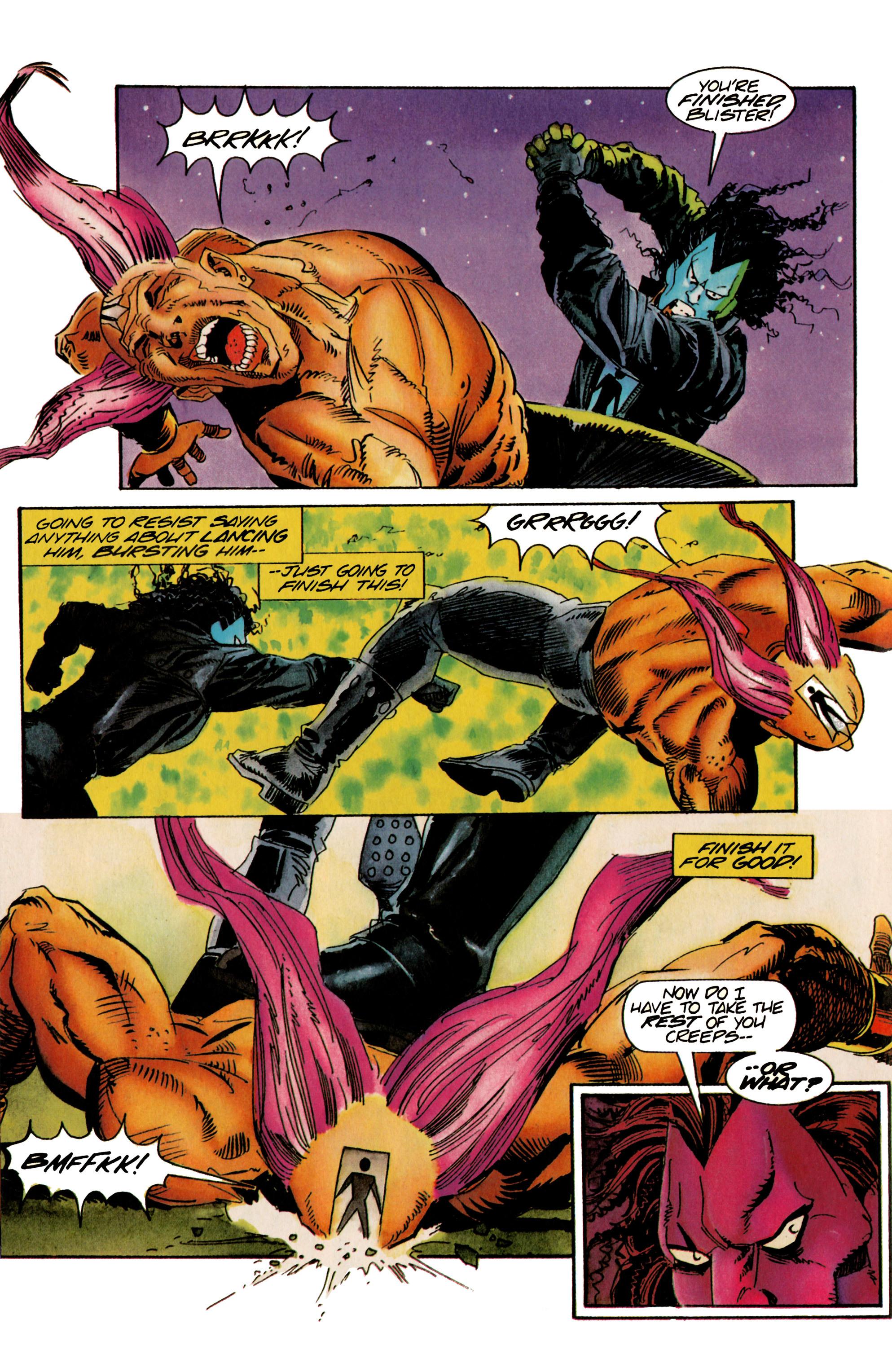 Read online Shadowman (1992) comic -  Issue #22 - 11