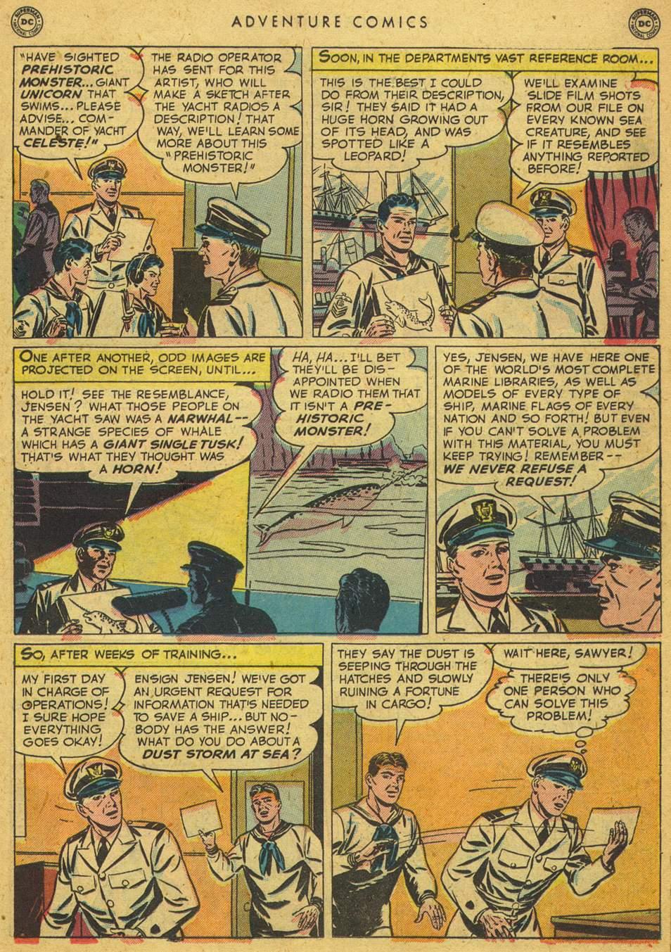 Read online Adventure Comics (1938) comic -  Issue #164 - 29