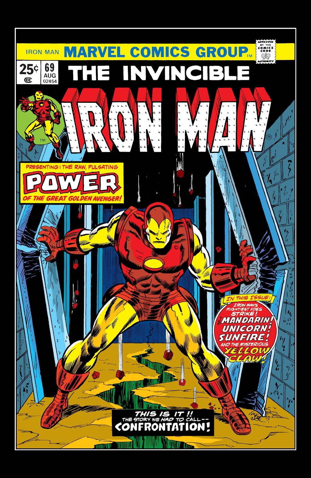 Read online Marvel Masterworks: The Invincible Iron Man comic -  Issue # TPB 10 (Part 1) - 26