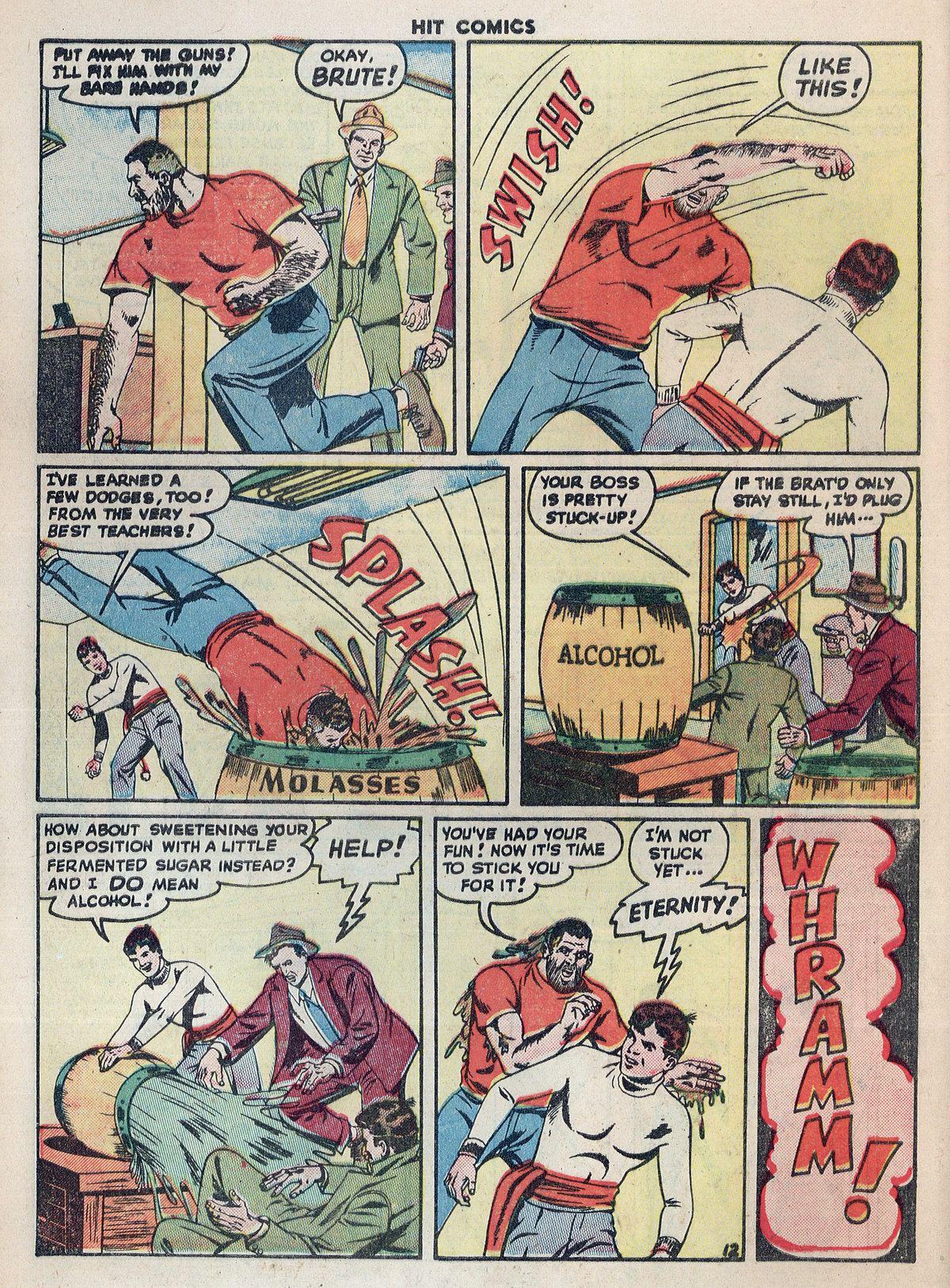 Read online Hit Comics comic -  Issue #55 - 14