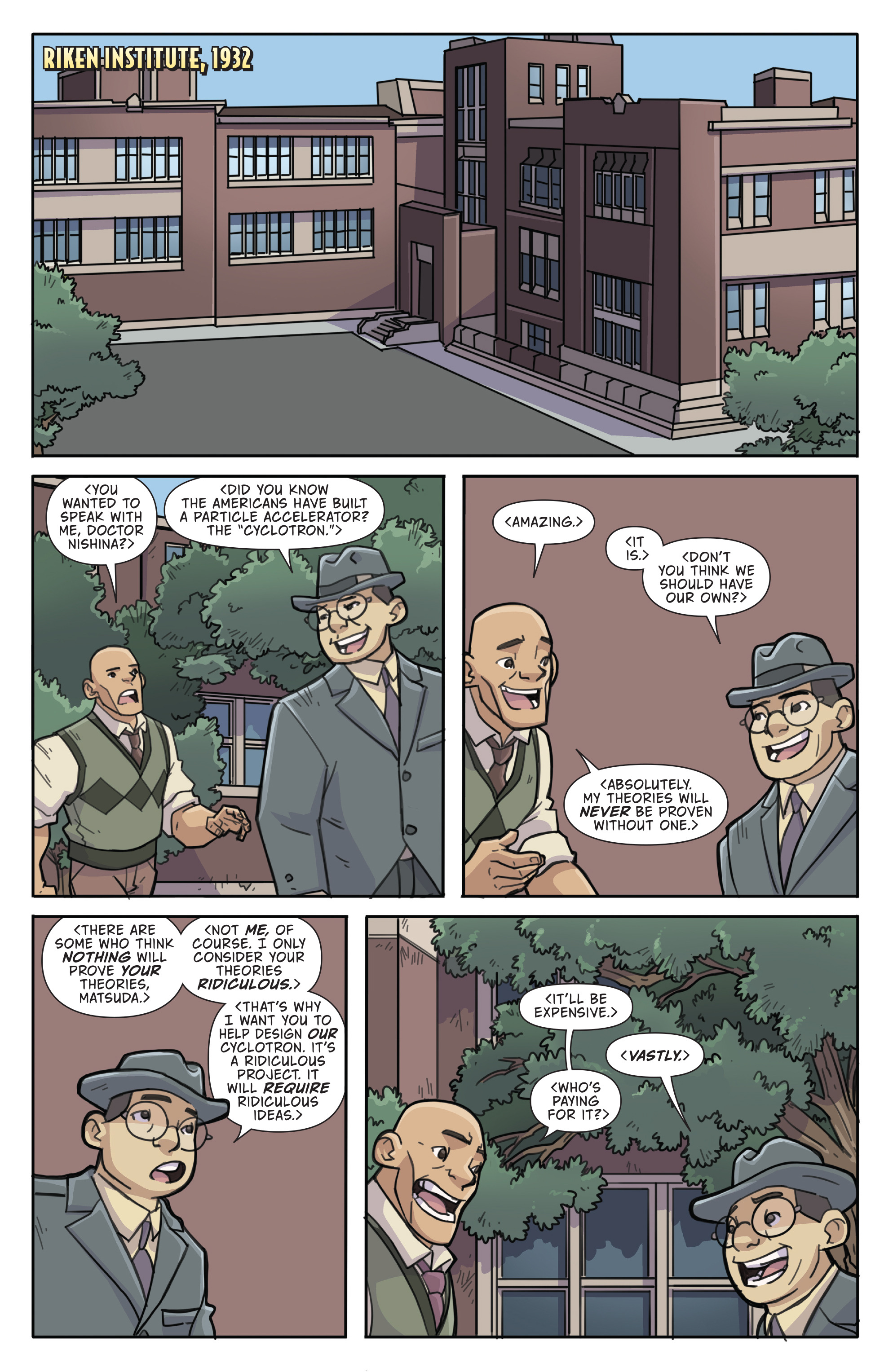 Read online Atomic Robo and the Temple of Od comic -  Issue #4 - 3