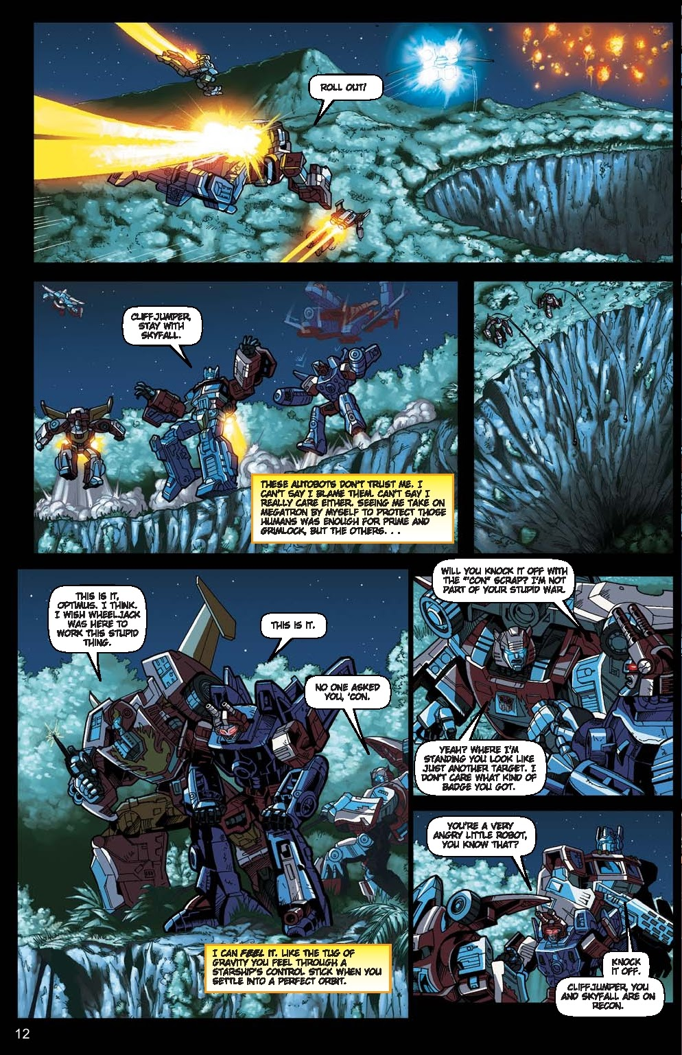 Read online Transformers: Collectors' Club comic -  Issue #15 - 12