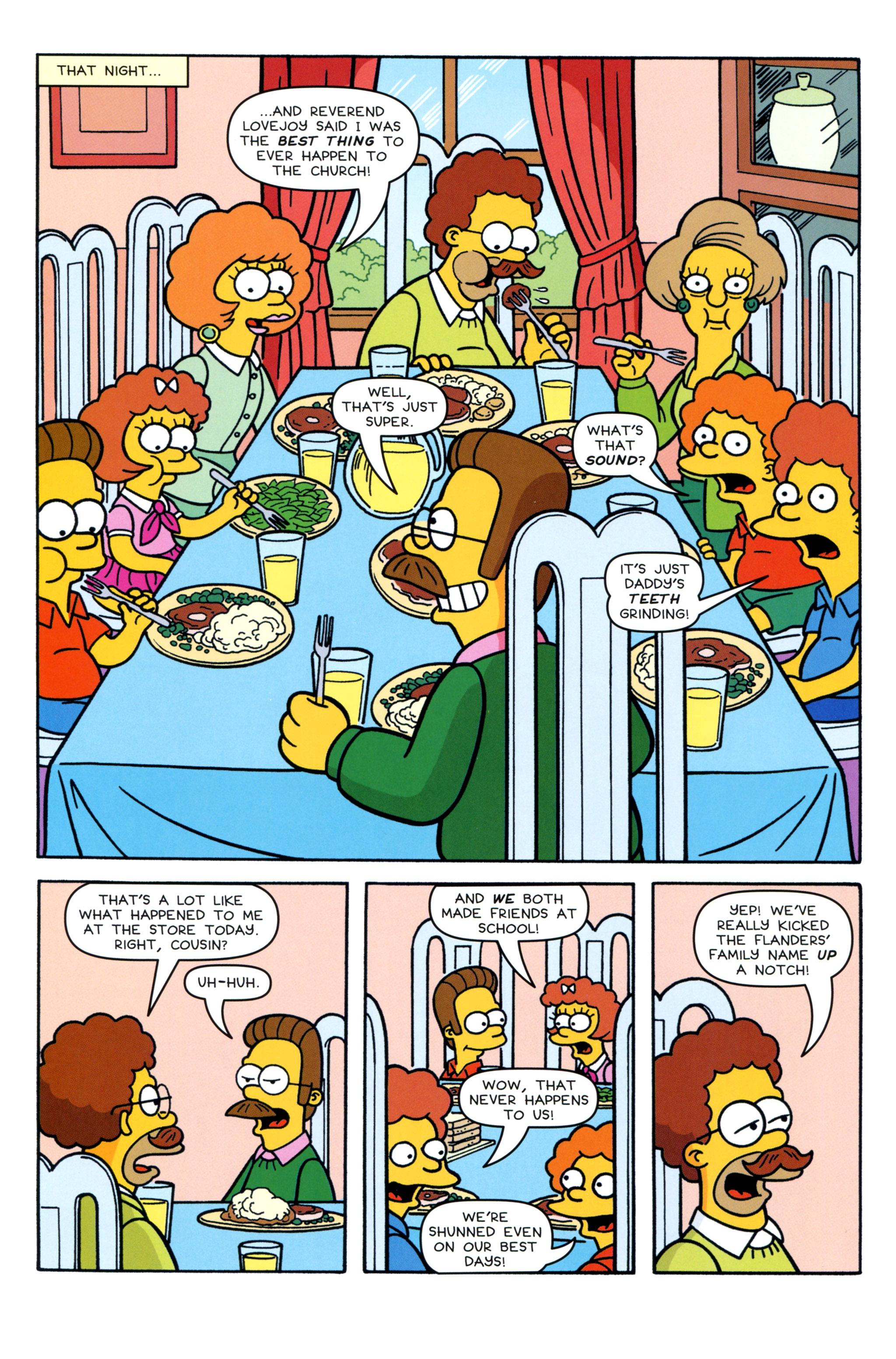 Read online Simpsons Comics comic -  Issue #213 - 18