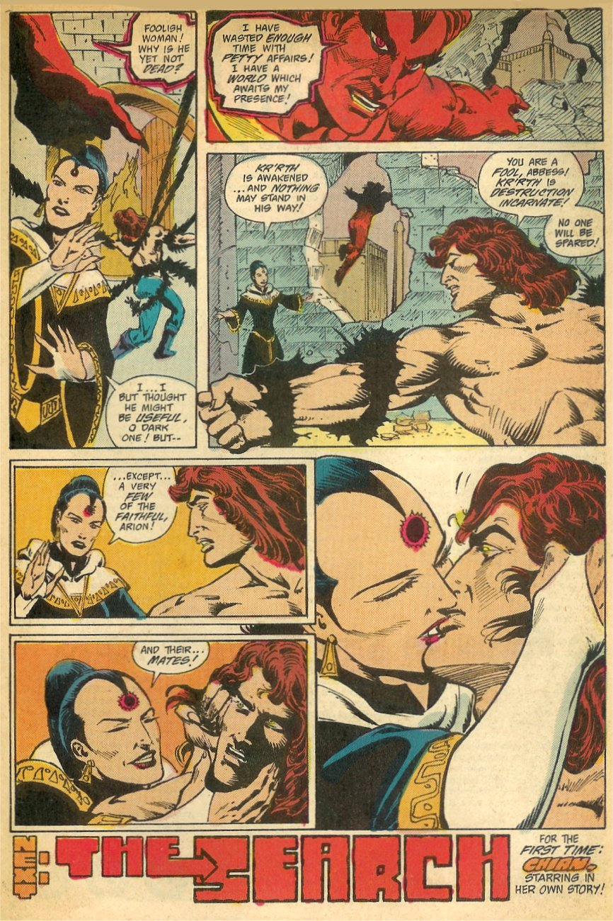 Read online Arion, Lord of Atlantis comic -  Issue #26 - 24