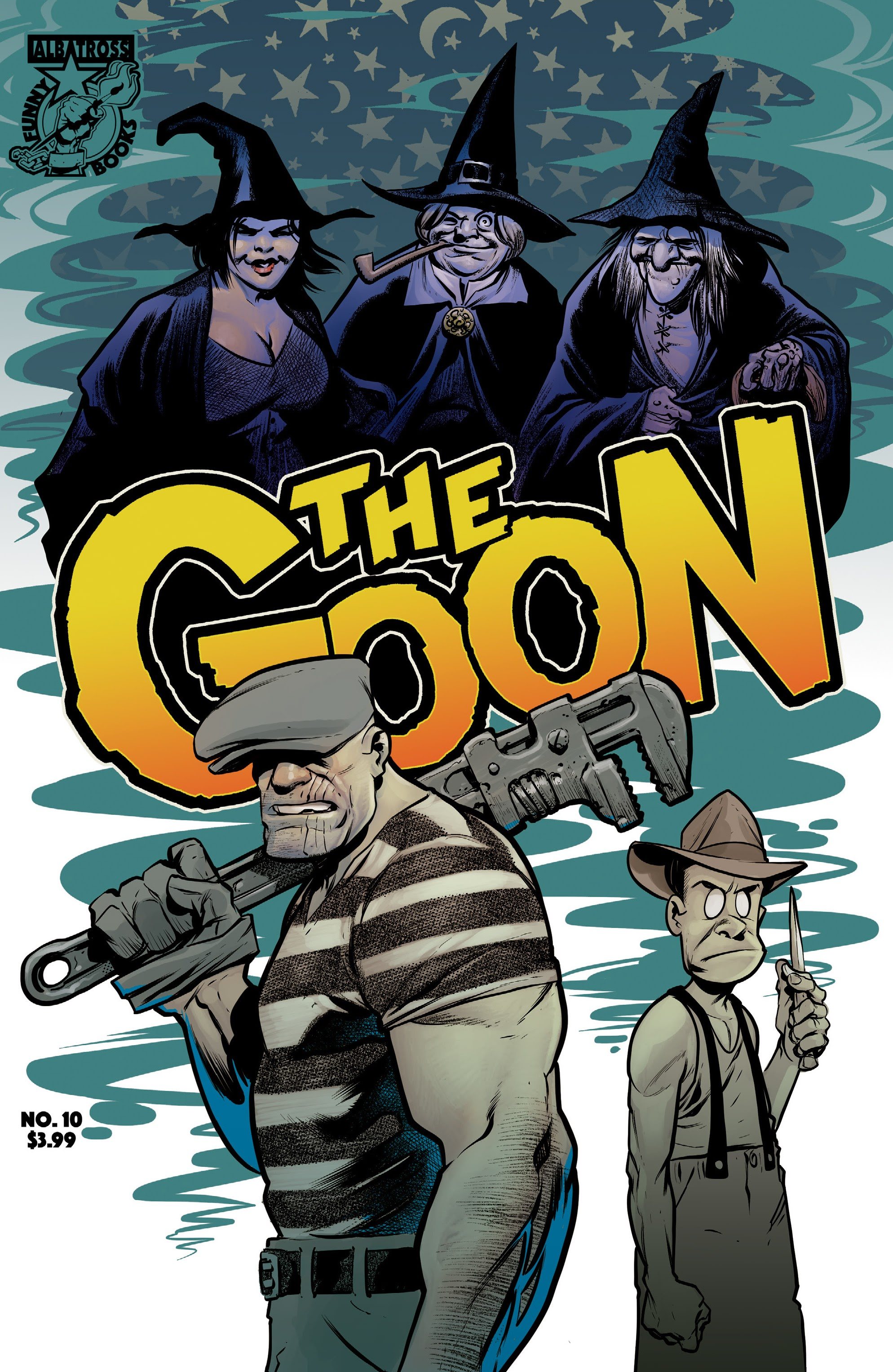 The Goon (2019) 10 Page 1