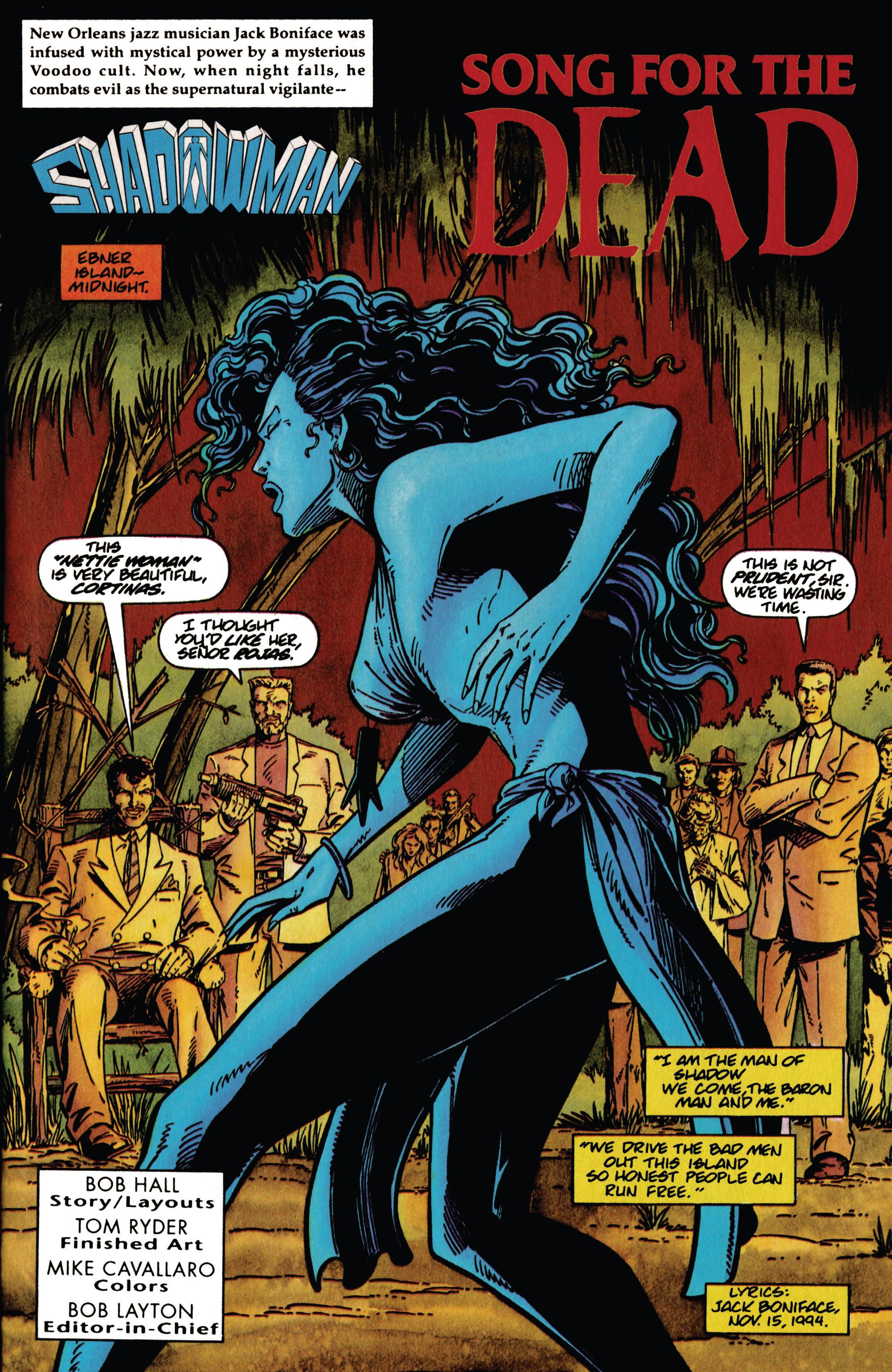 Read online Shadowman (1992) comic -  Issue #34 - 2
