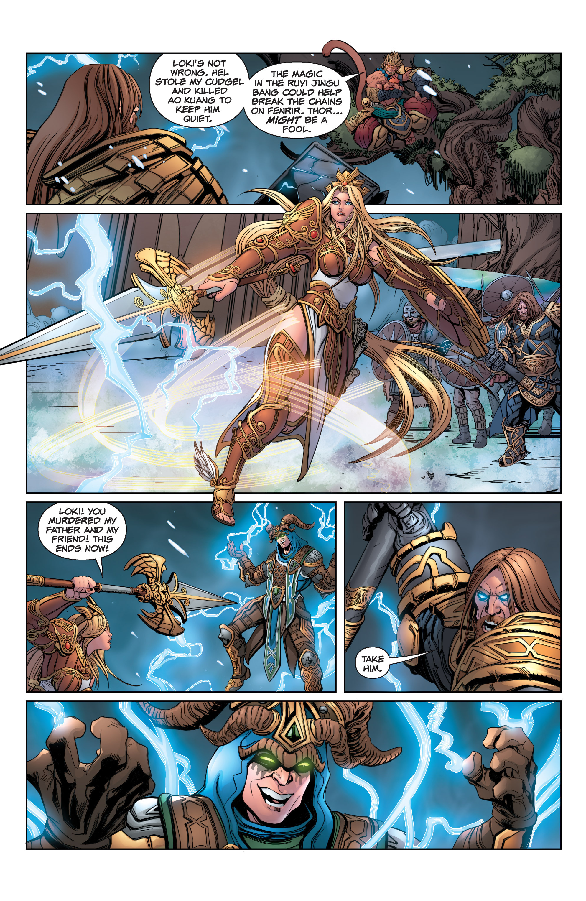 Read online SMITE: The Pantheon War comic -  Issue #3 - 11