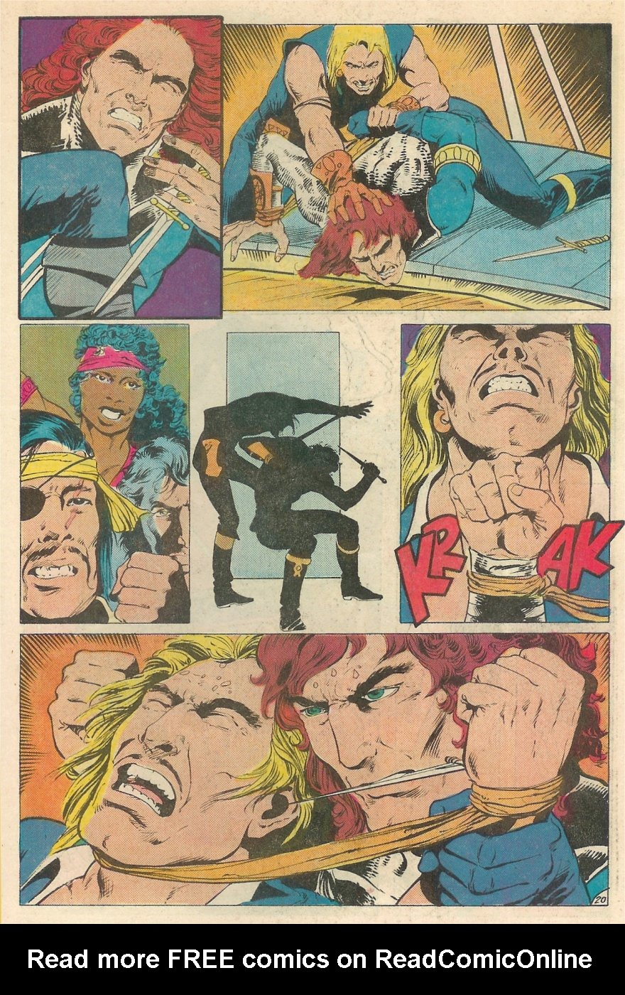 Read online Arion, Lord of Atlantis comic -  Issue #20 - 21