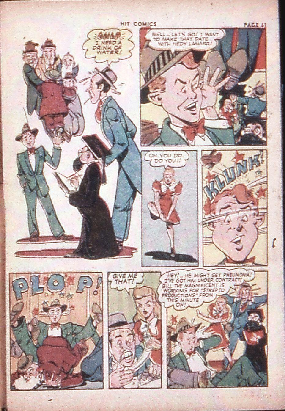 Read online Hit Comics comic -  Issue #29 - 63
