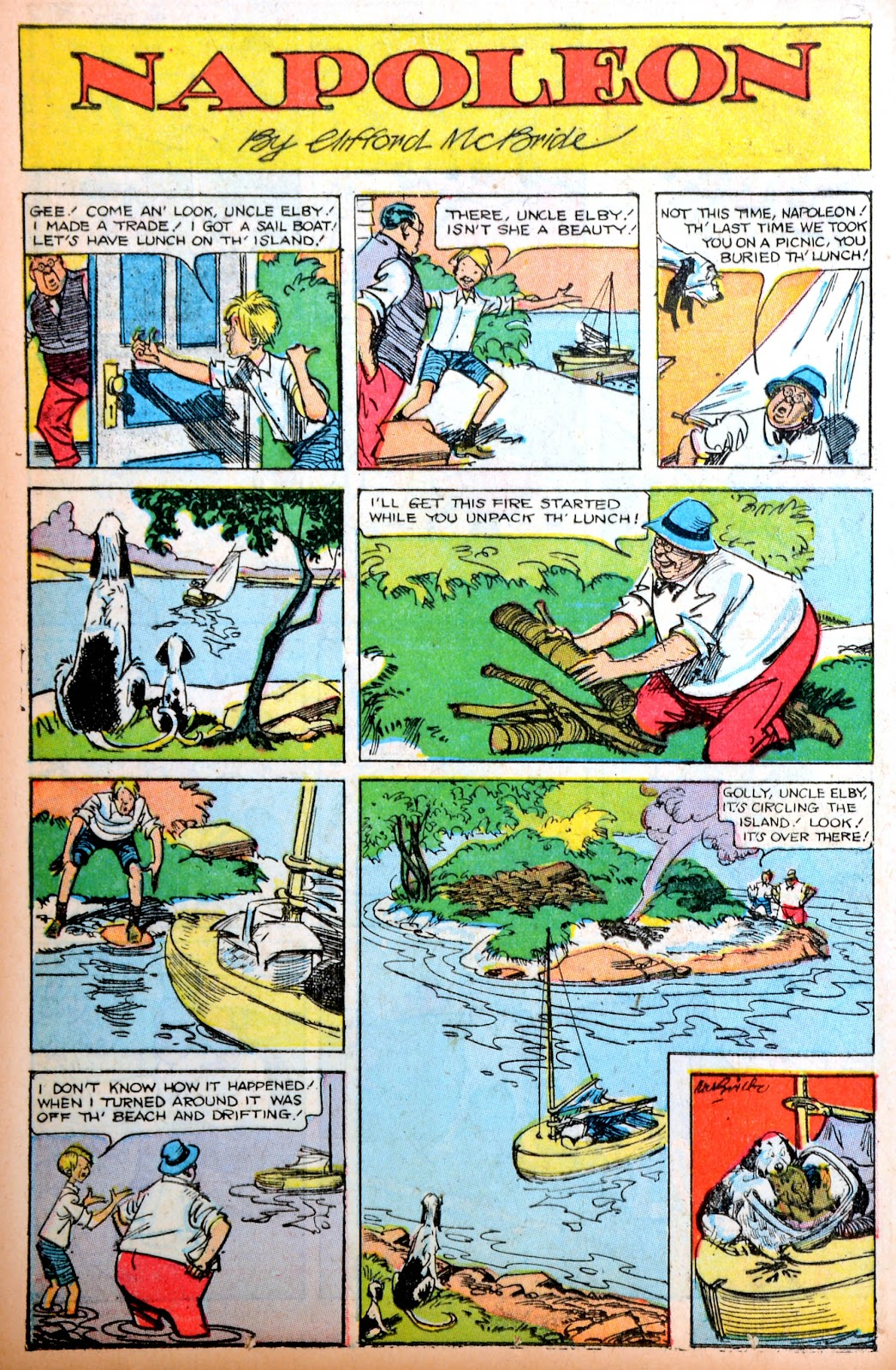 Read online Famous Funnies comic -  Issue #195 - 16