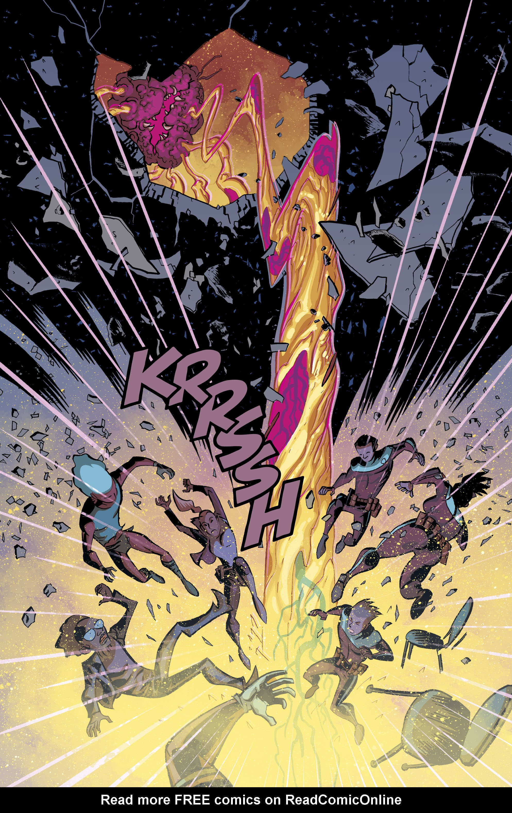 Read online Cave Carson Has a Cybernetic Eye comic -  Issue #8 - 18