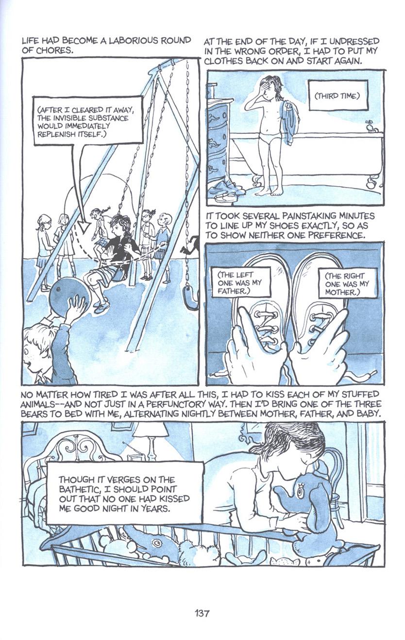 Read online Fun Home: A Family Tragicomic comic -  Issue # TPB - 143