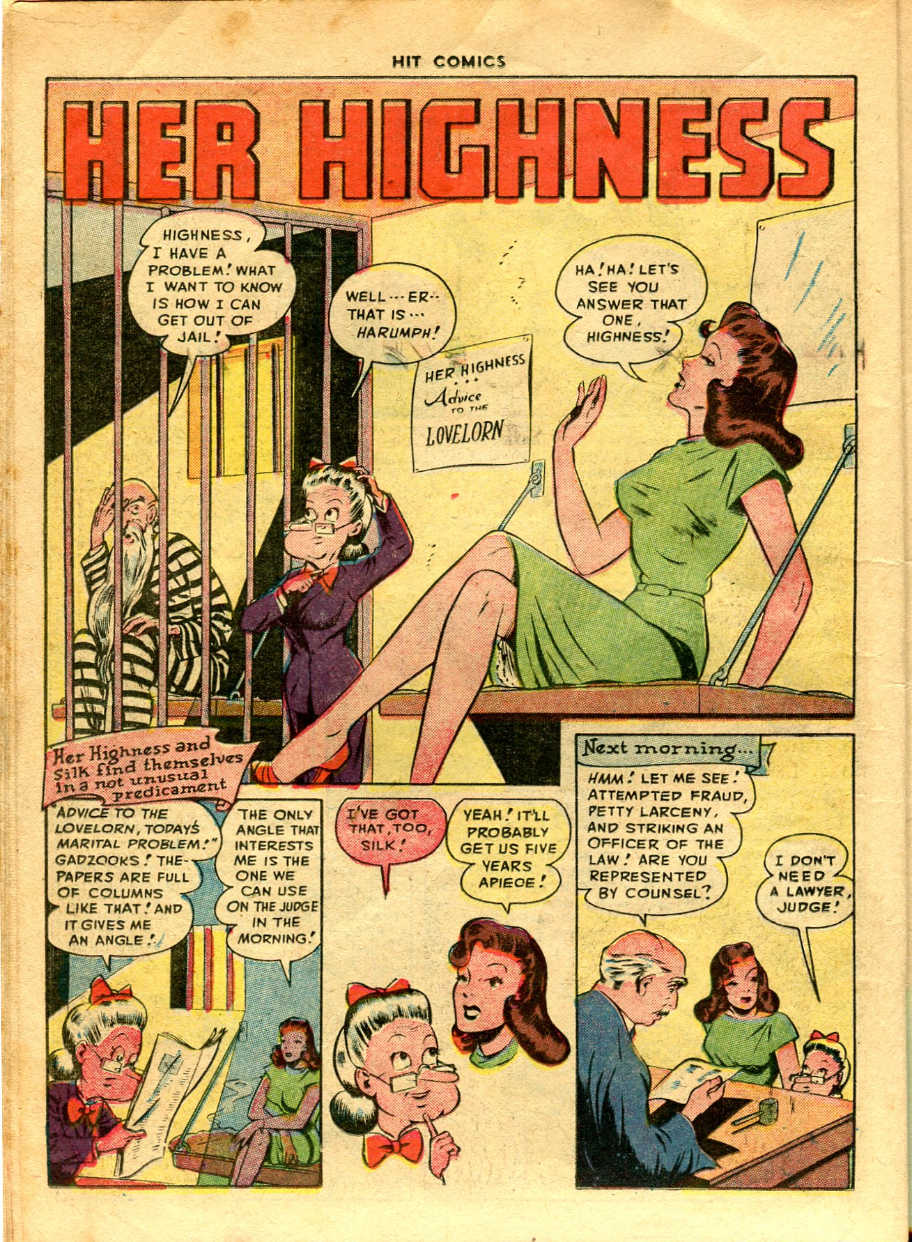 Read online Hit Comics comic -  Issue #48 - 16