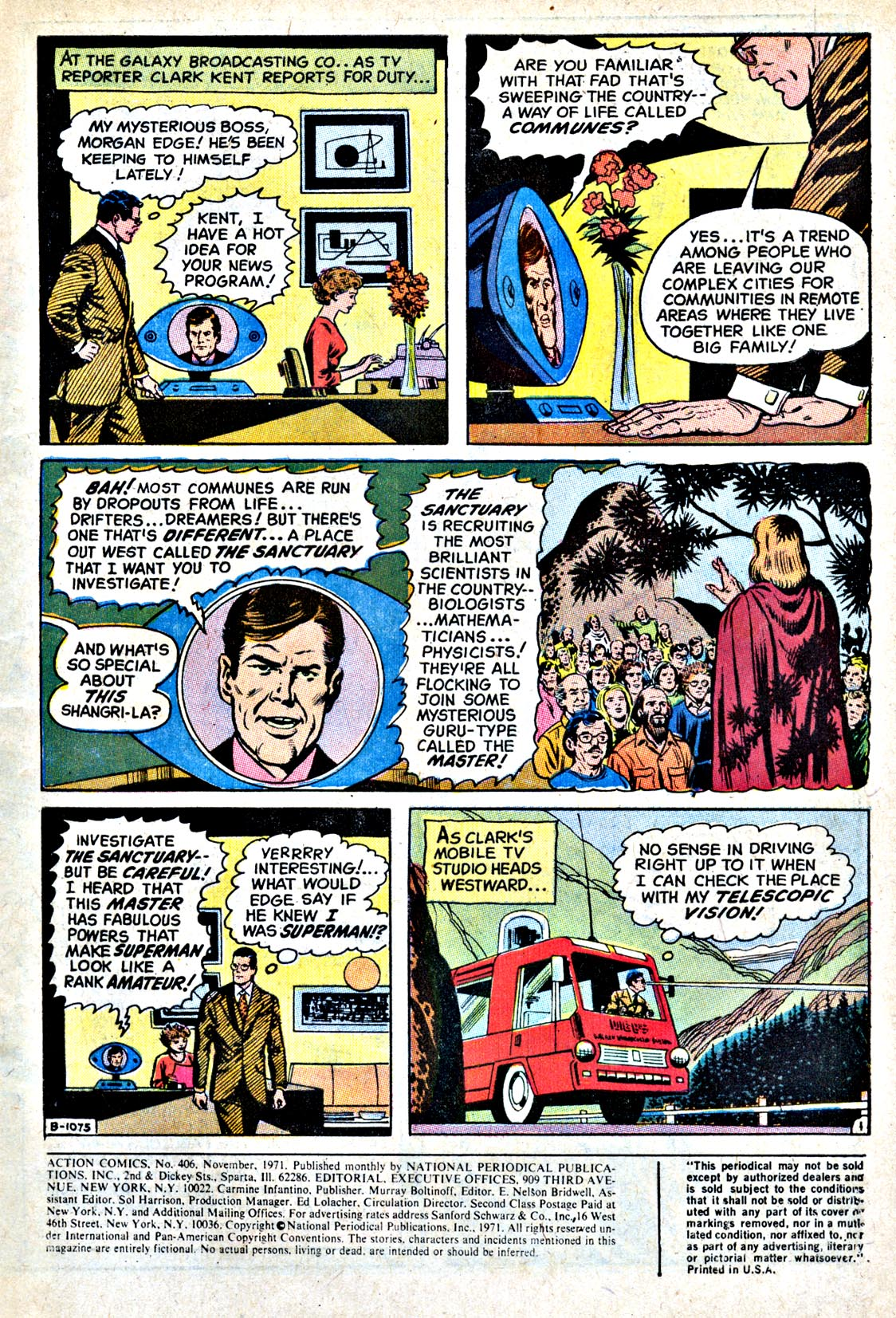 Read online Action Comics (1938) comic -  Issue #406 - 3