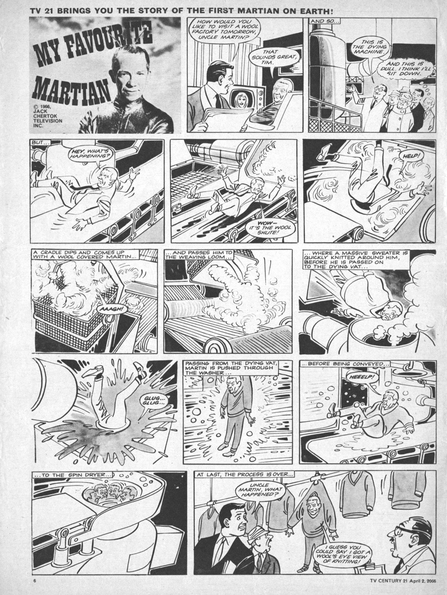 Read online TV Century 21 (TV 21) comic -  Issue #63 - 6