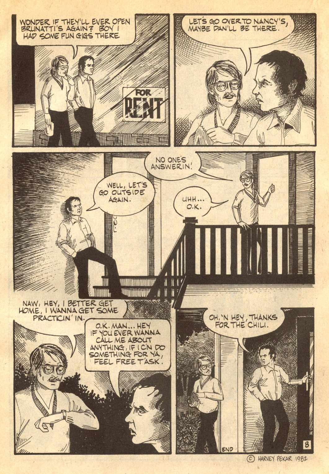 American Splendor (1976) issue 7 - Page 39