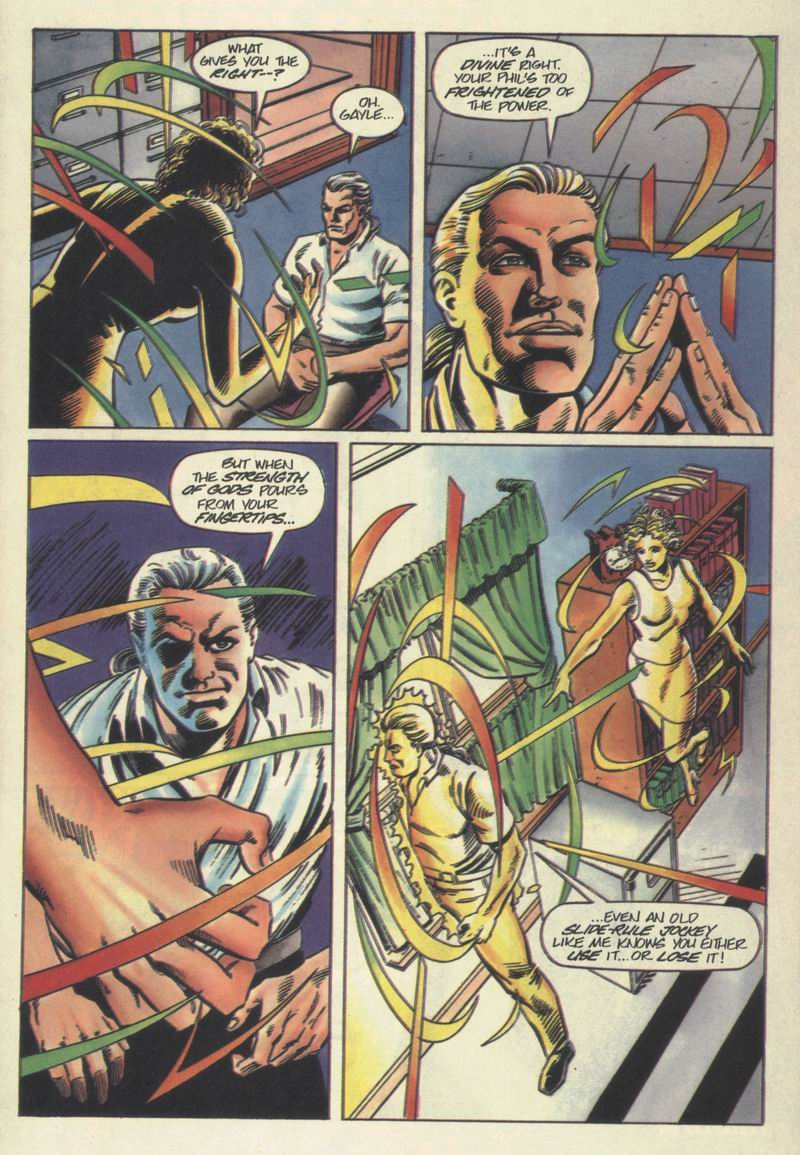 Read online Solar, Man of the Atom comic -  Issue #40 - 4