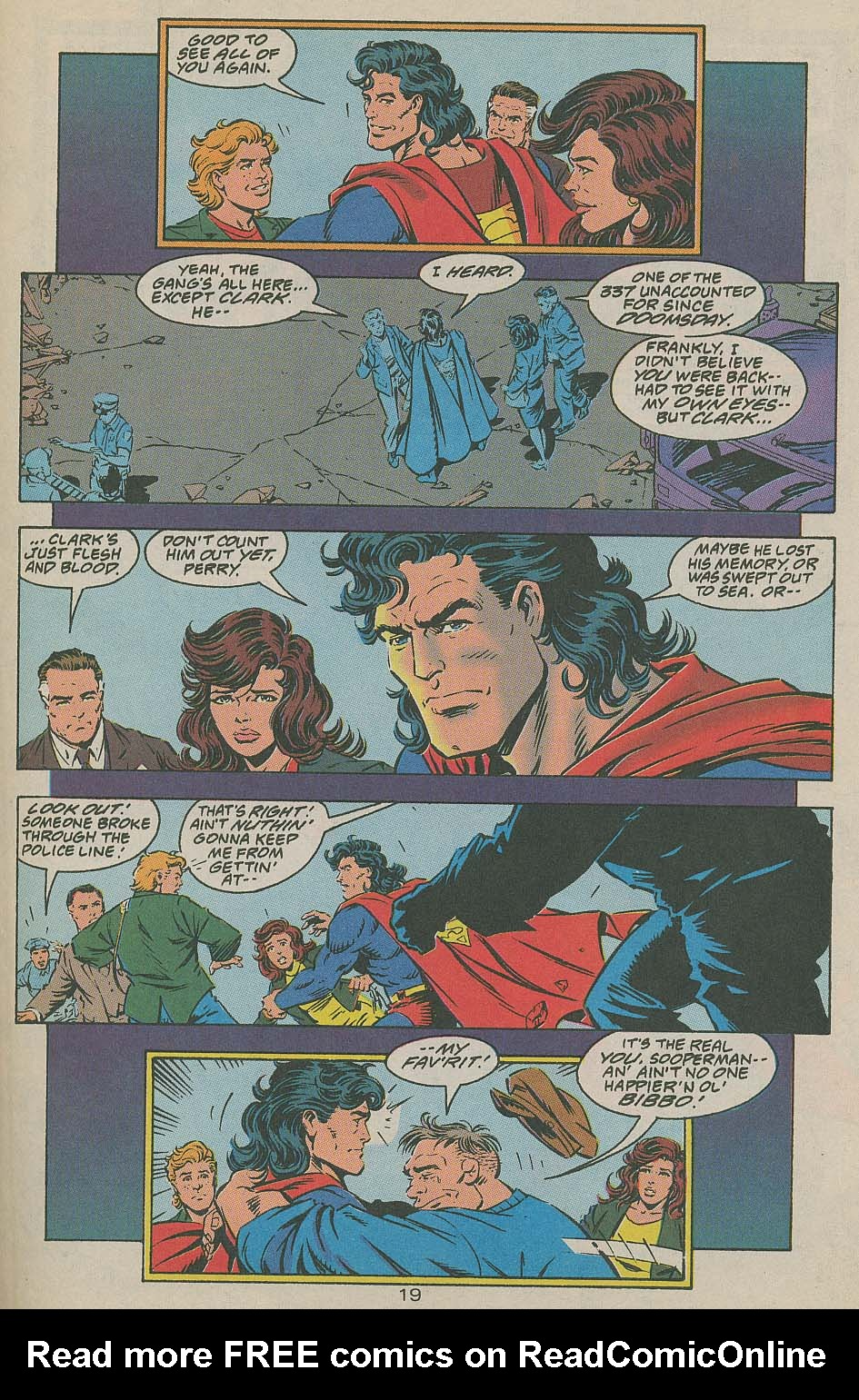 Read online Adventures of Superman (1987) comic -  Issue #505 - 20