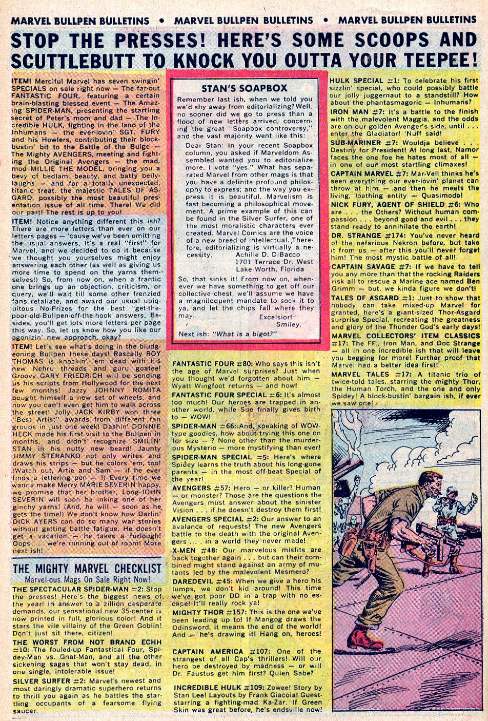 Read online Sgt. Fury comic -  Issue #59 - 30