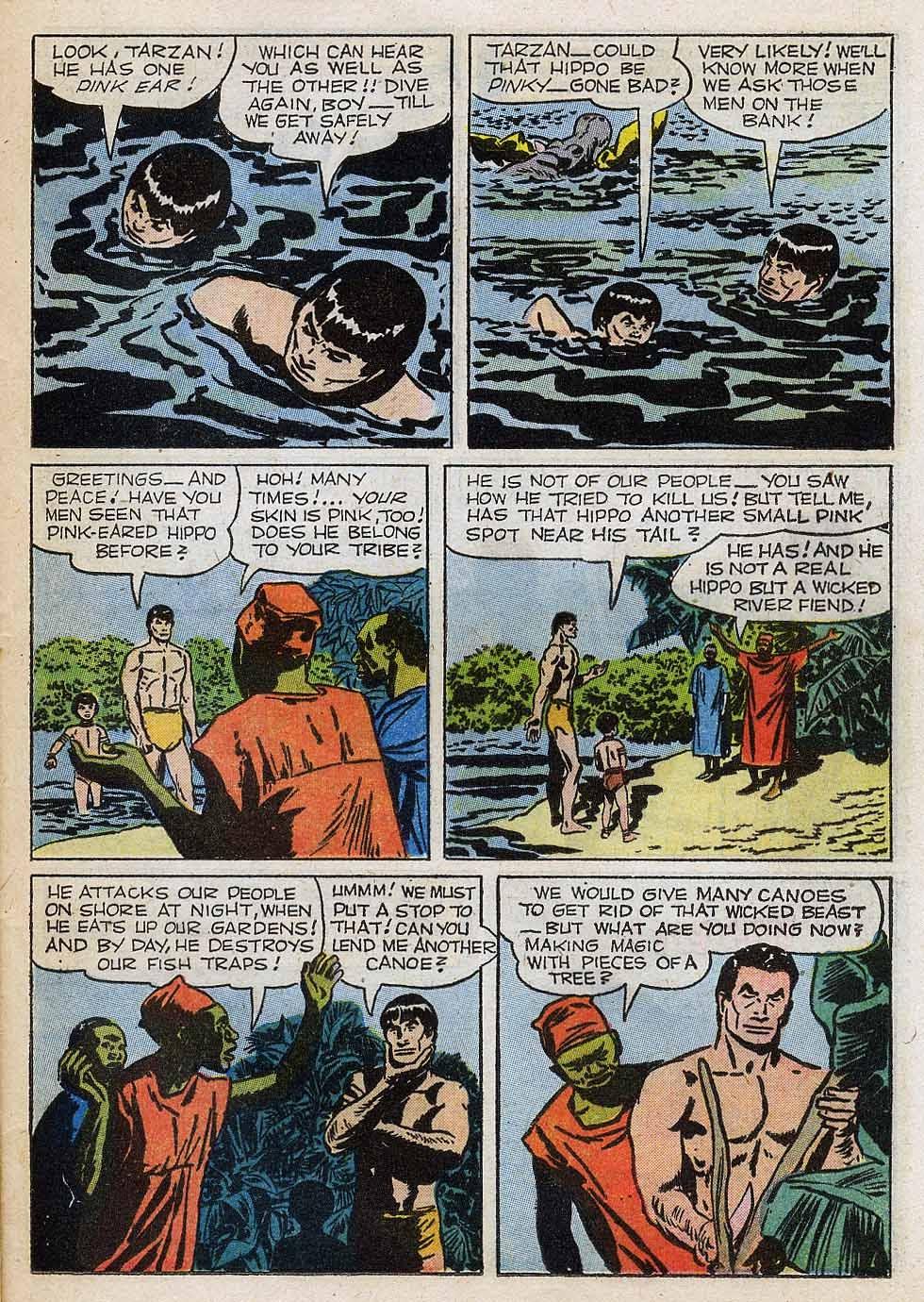 Tarzan (1948) issue 101 - Page 21