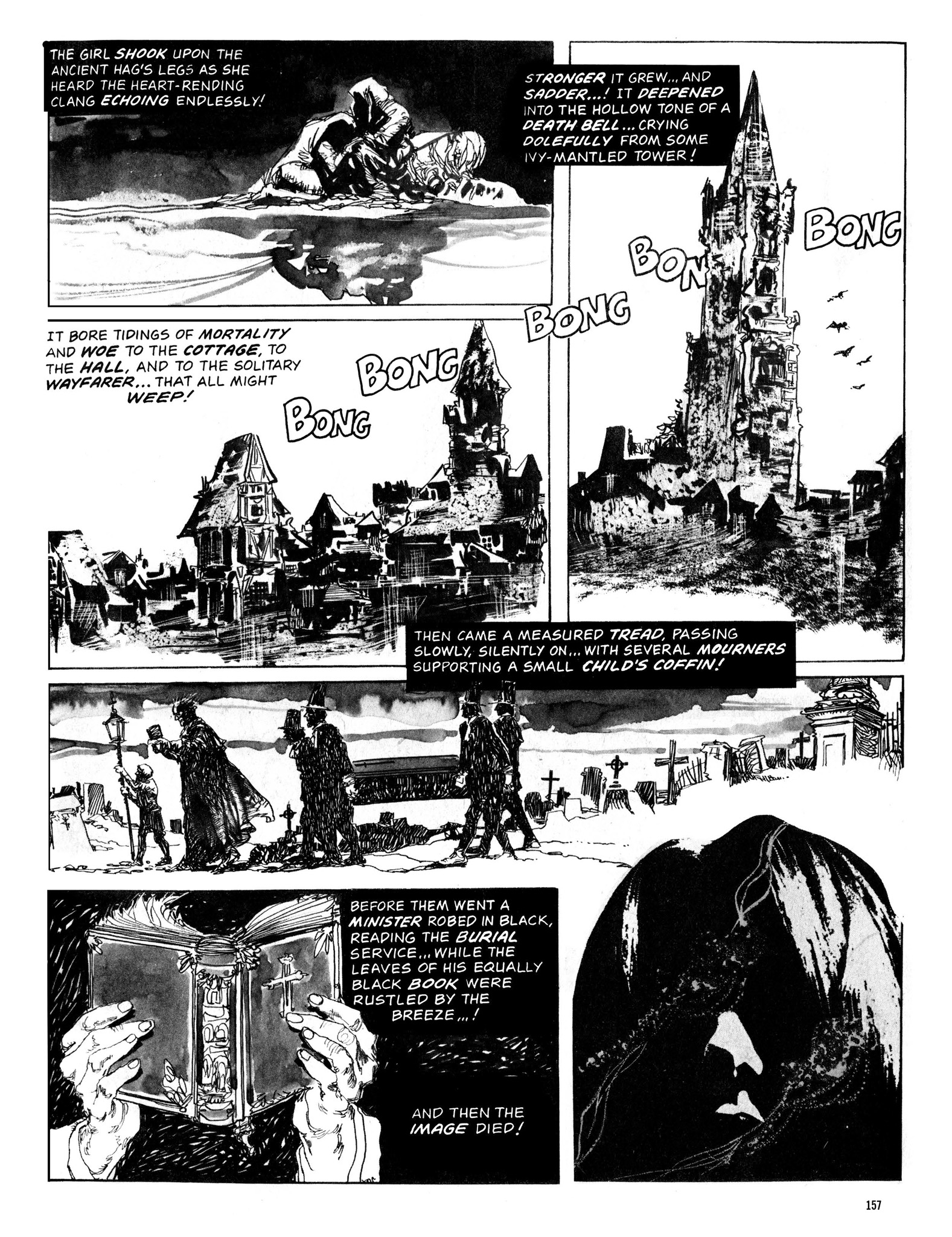 Read online Eerie Archives comic -  Issue # TPB 13 - 158