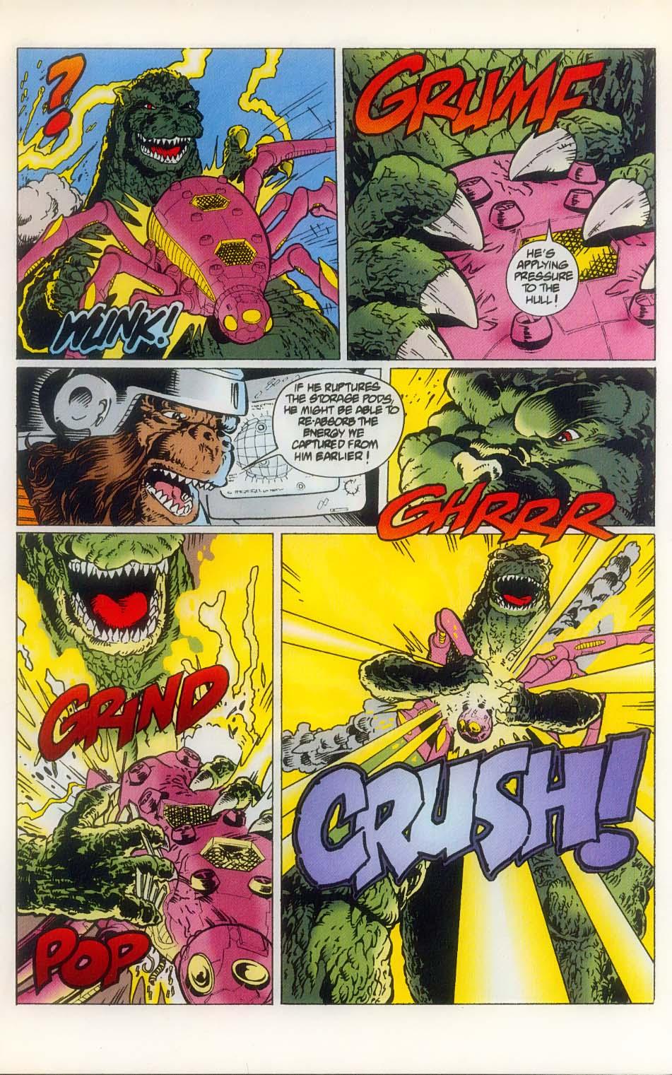 Godzilla (1995) Issue #8 #9 - English 21