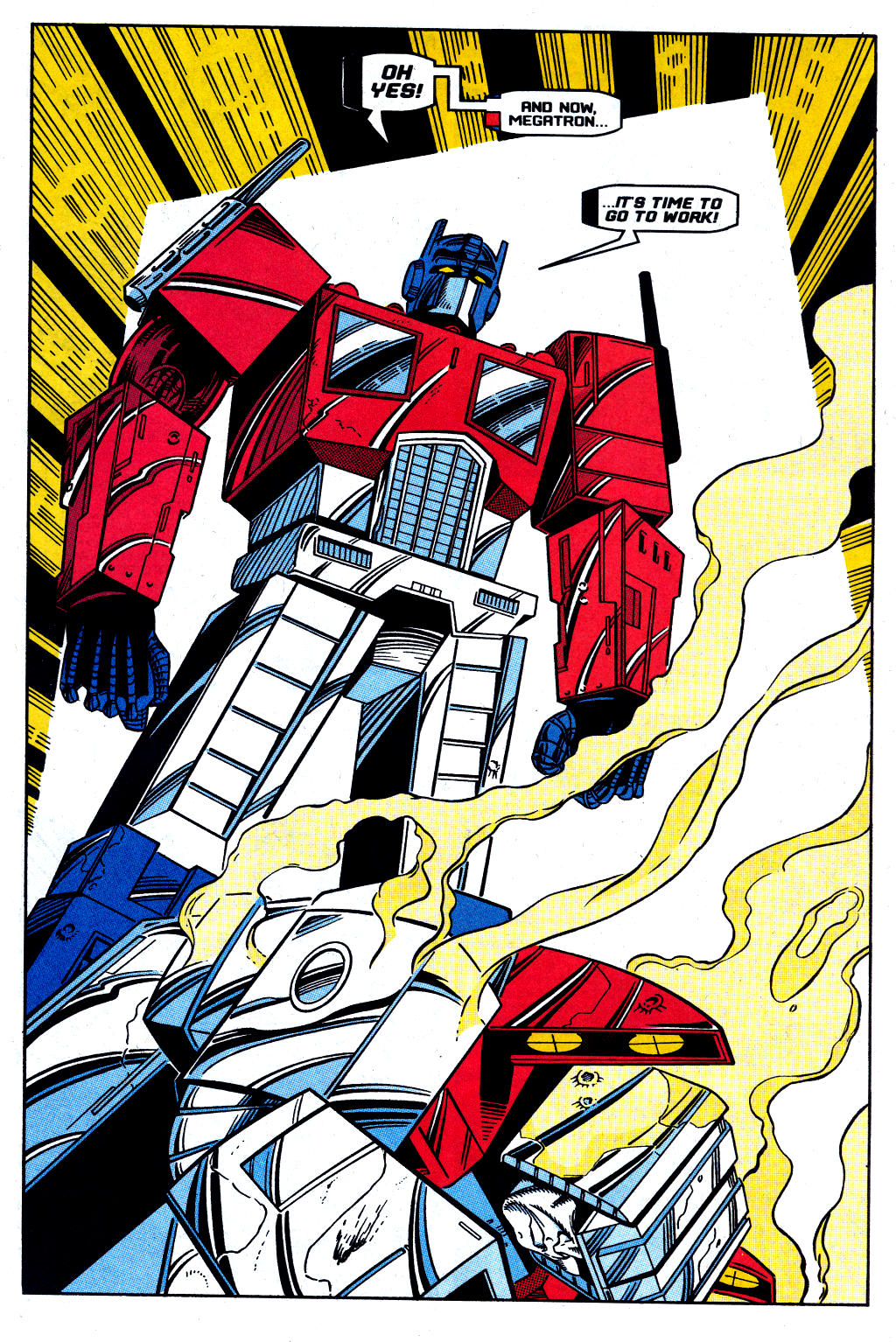 Read online Transformers: Generation 2 comic -  Issue #12 - 9