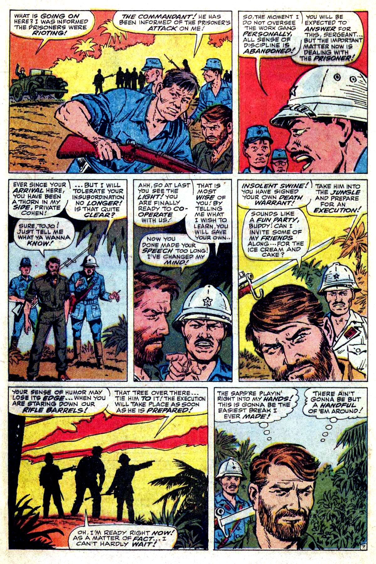 Read online Sgt. Fury comic -  Issue #54 - 12