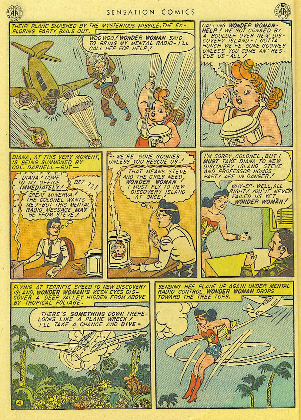Read online Sensation (Mystery) Comics comic -  Issue #39 - 6