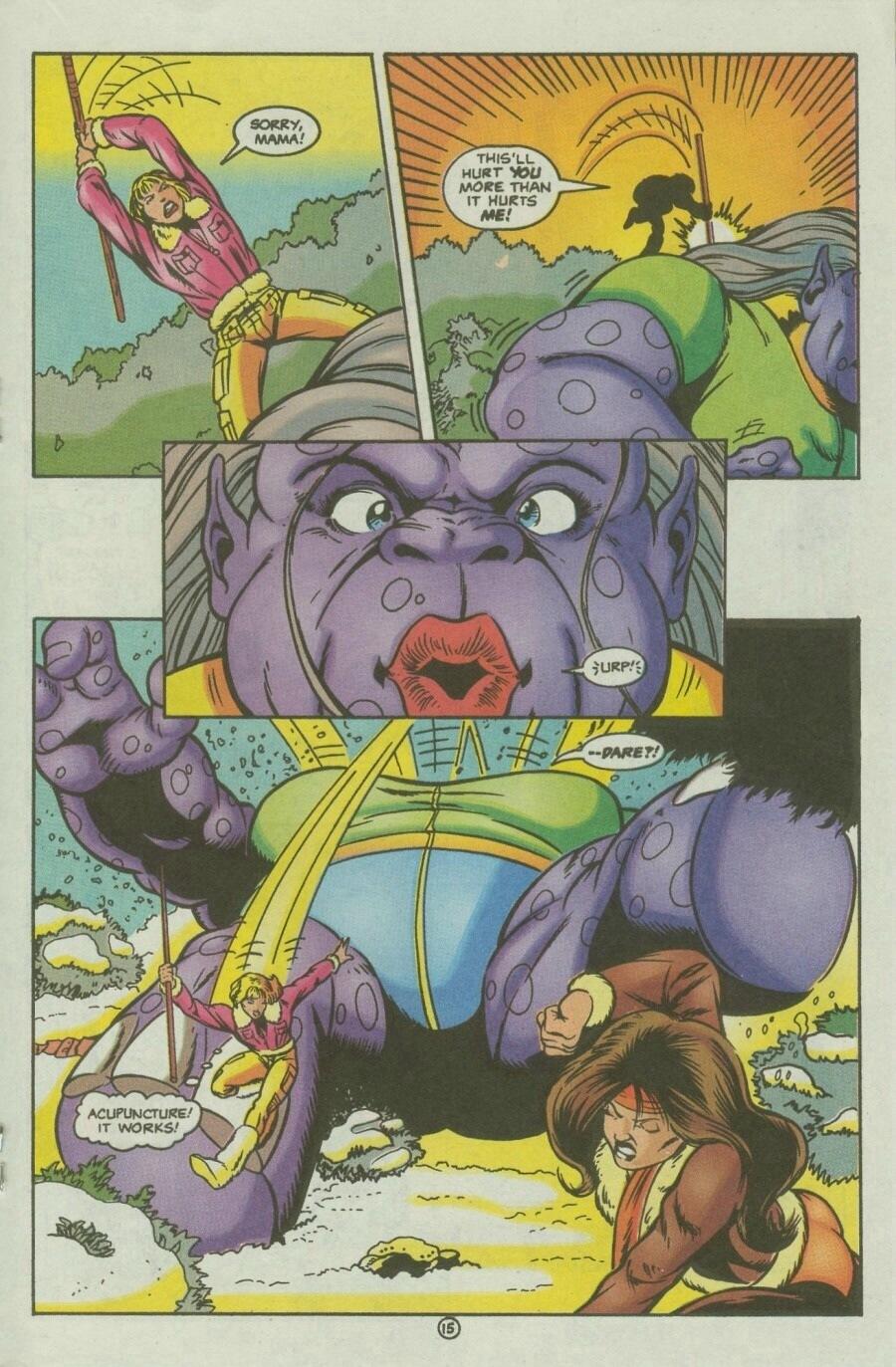 Read online Ex-Mutants comic -  Issue #10 - 18
