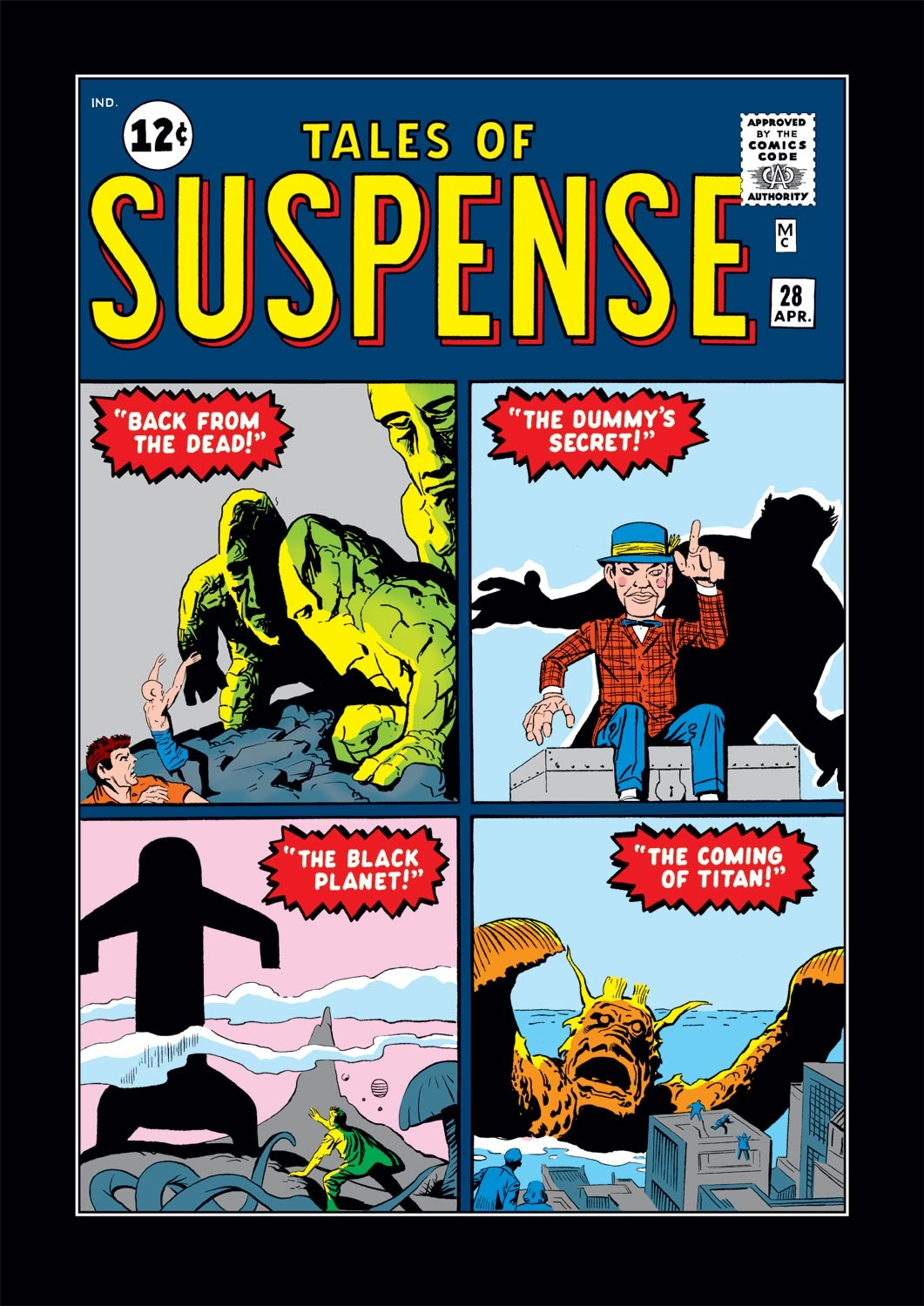 Tales of Suspense (1959) issue 28 - Page 1