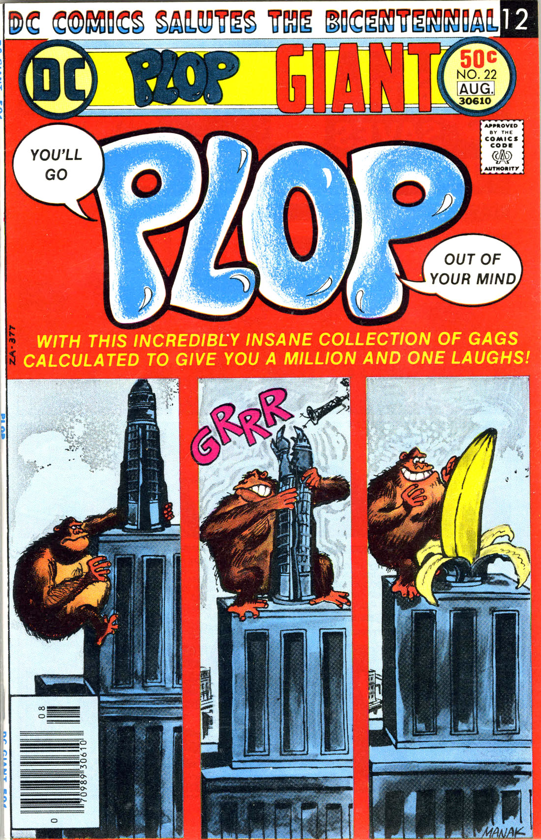 Read online Plop! comic -  Issue #22 - 1