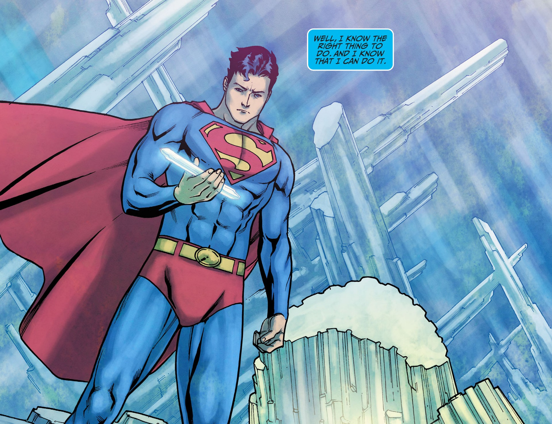 Read online Adventures of Superman [I] comic -  Issue #16 - 19