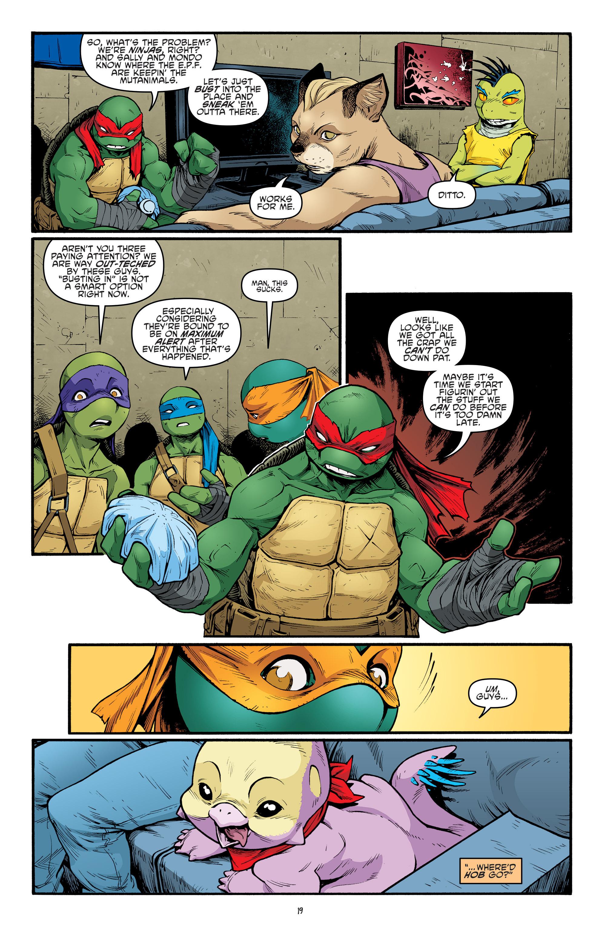 Read online Teenage Mutant Ninja Turtles (2011) comic -  Issue #69 - 21