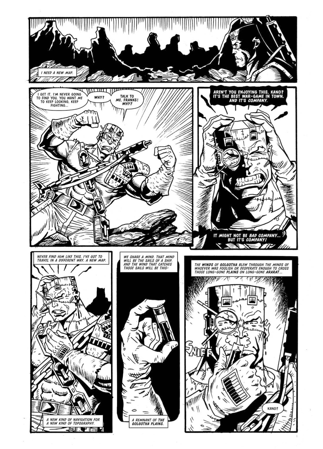 Read online The Complete Bad Company comic -  Issue # TPB - 348
