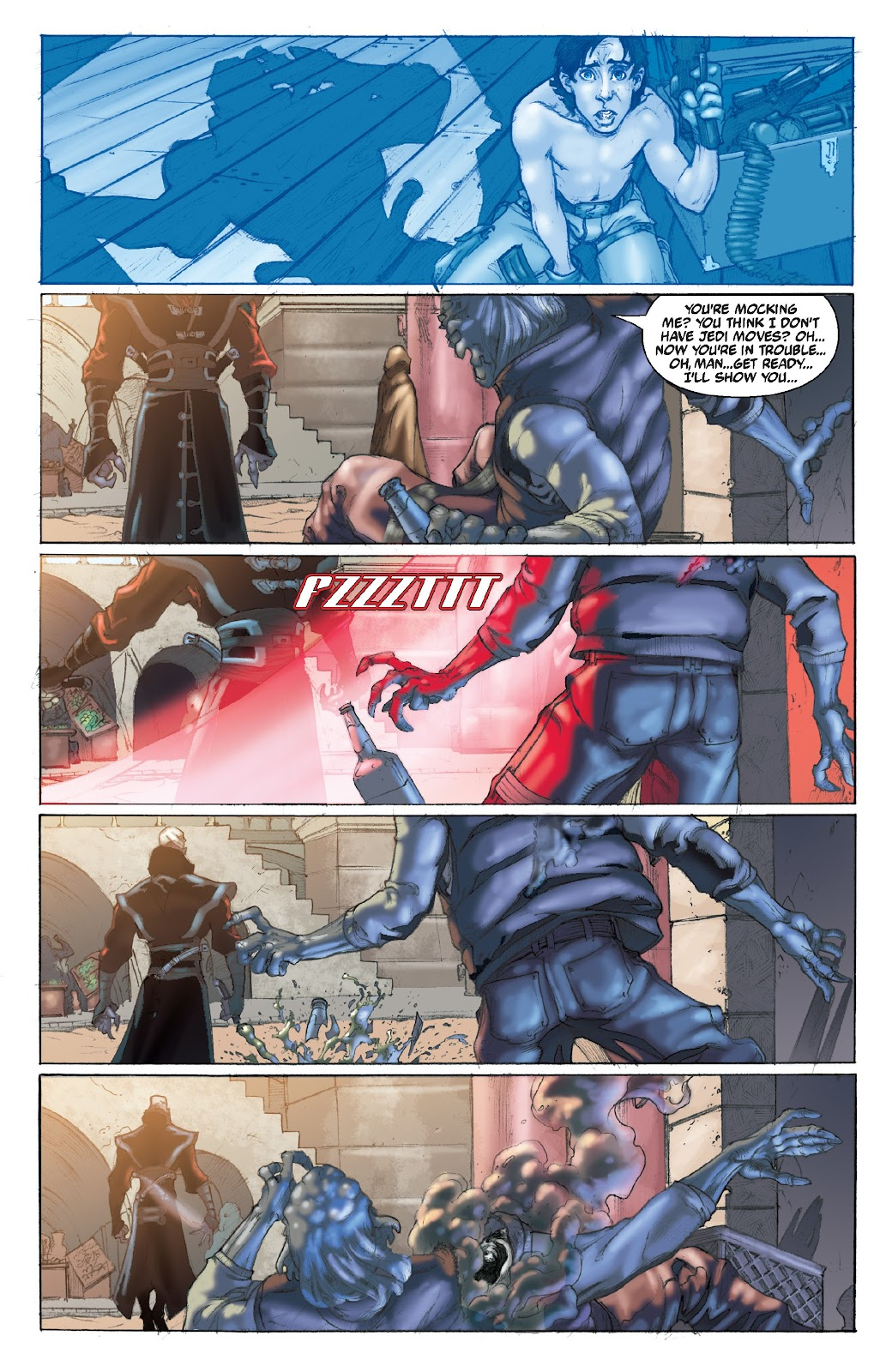 Read online Star Wars Legends Epic Collection: The Menace Revealed comic -  Issue # TPB (Part 4) - 96