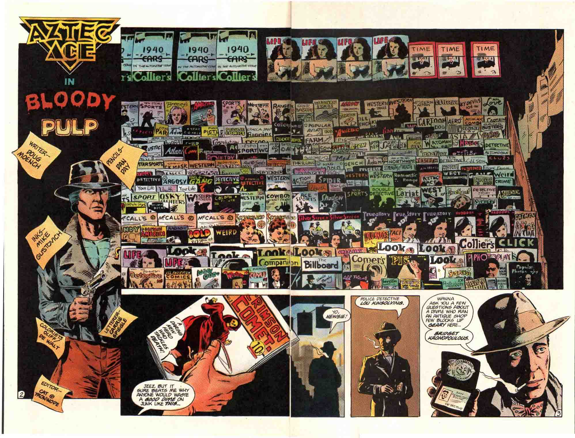 Read online Aztec Ace comic -  Issue #12 - 4