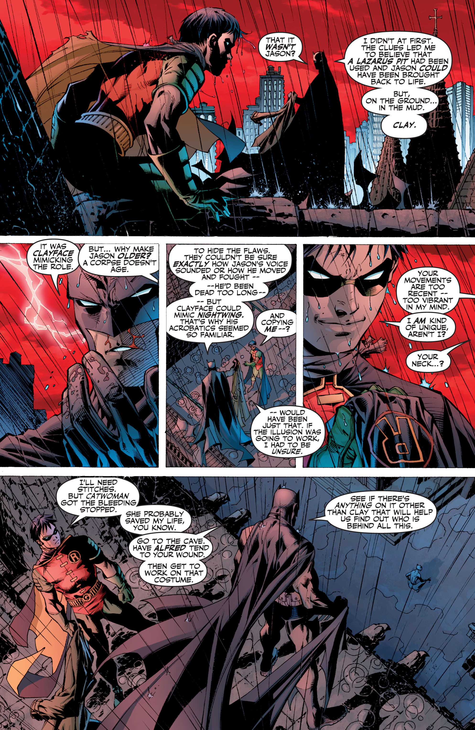 Read online Batman: Under The Red Hood comic -  Issue # Full - 376