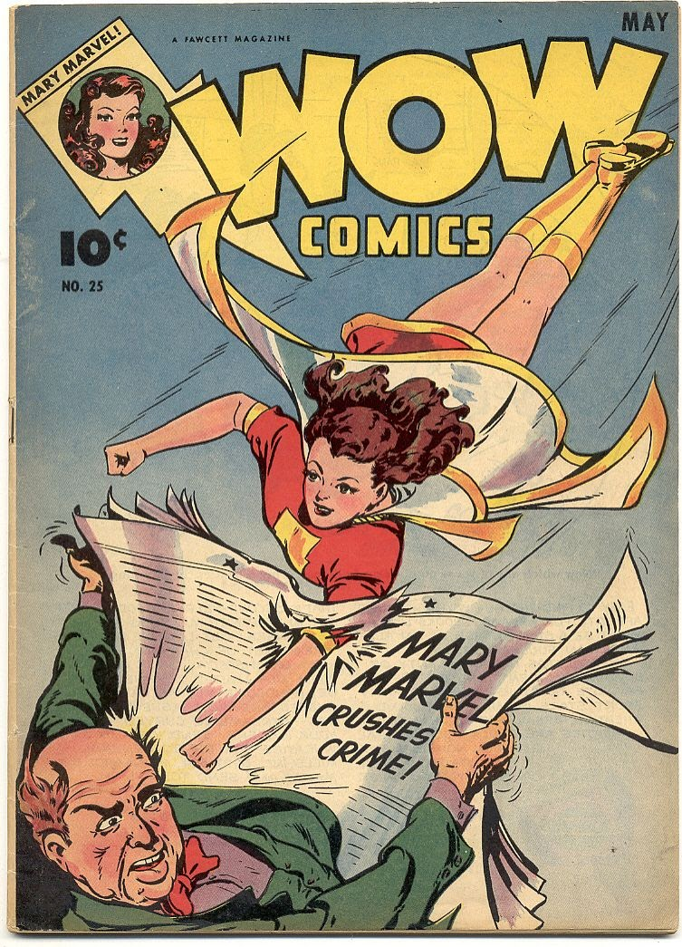 Wow Comics 25 Page 1