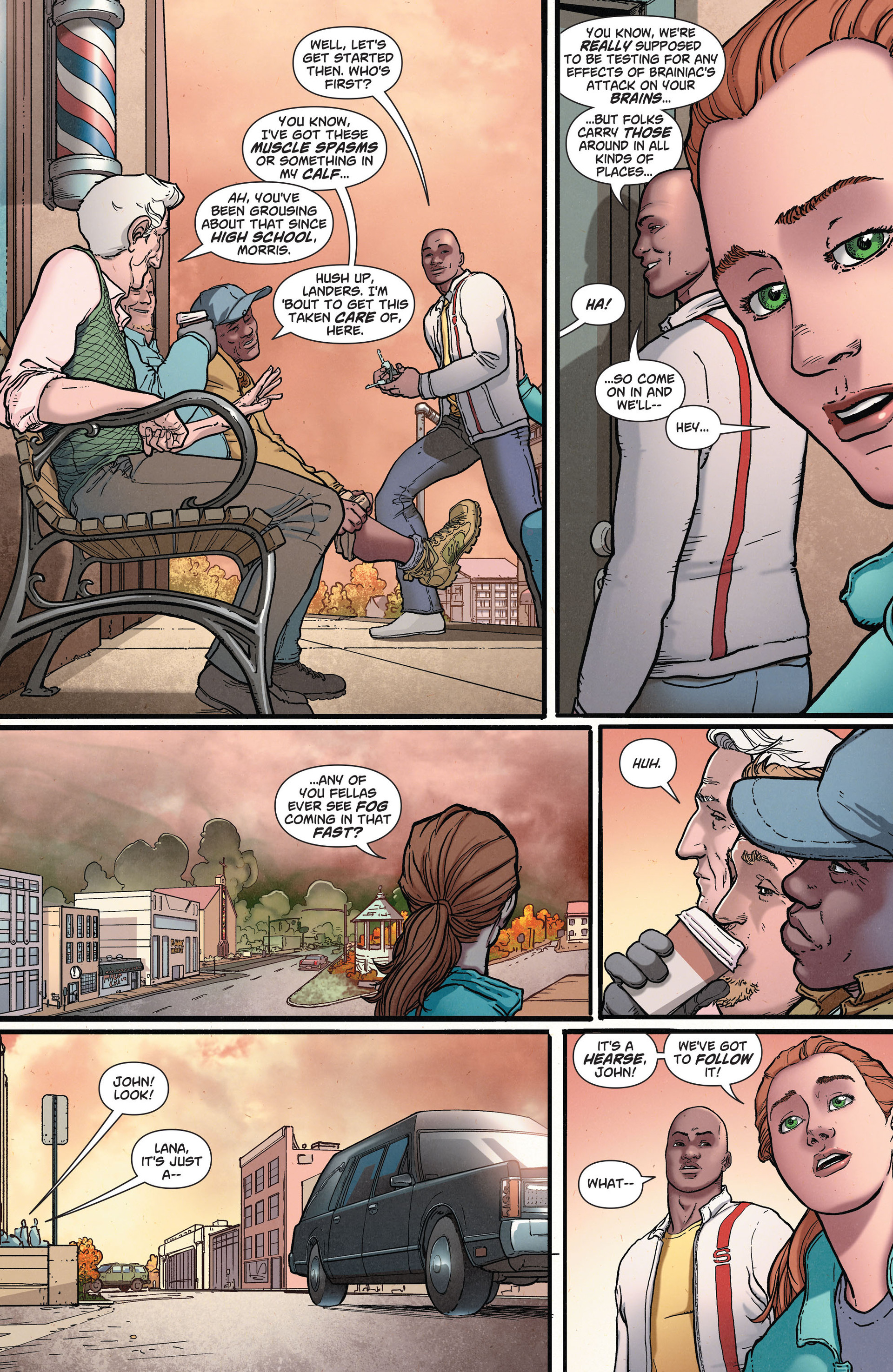 Read online Action Comics (2011) comic -  Issue #36 - 6