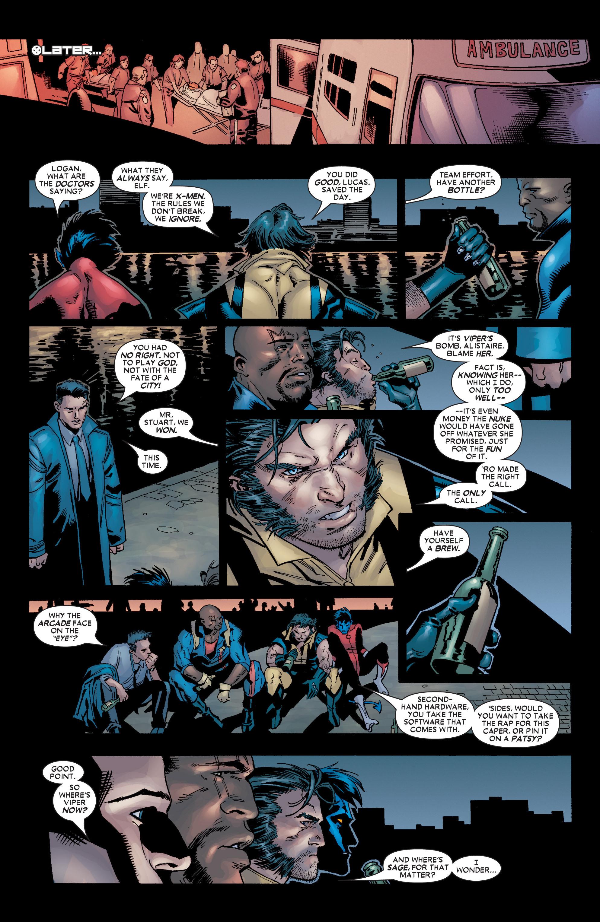 Read online Uncanny X-Men (1963) comic -  Issue #449 - 23