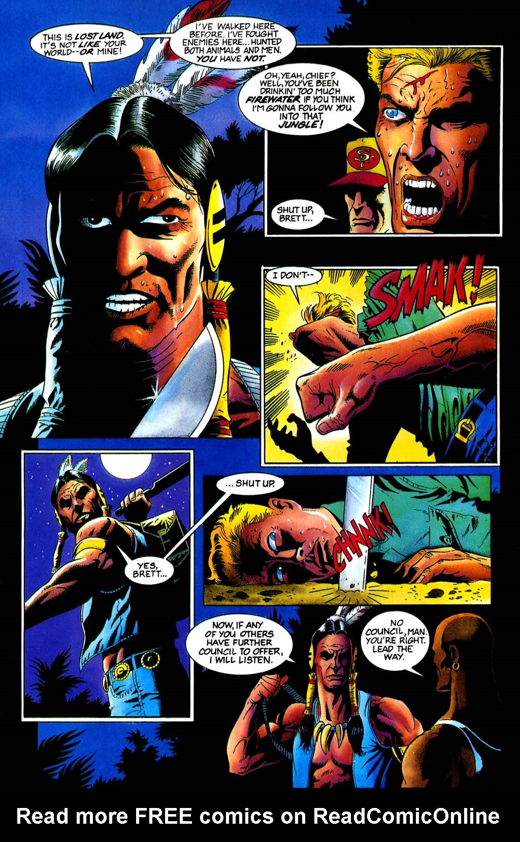 Read online Turok, Dinosaur Hunter (1993) comic -  Issue #32 - 15