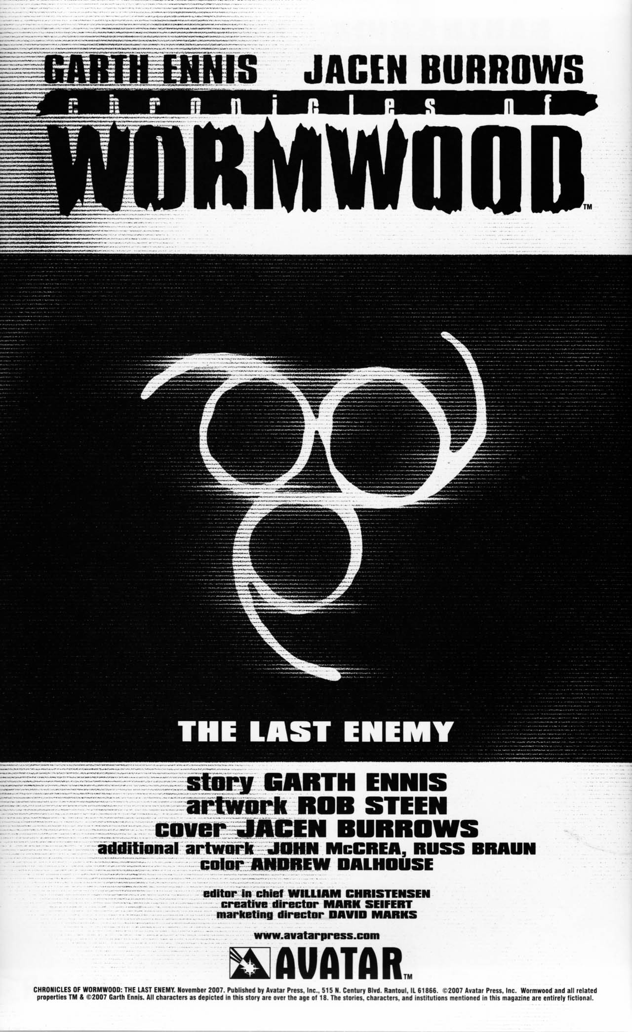 Read online Chronicles of Wormwood: The Last Enemy comic -  Issue # Full - 2
