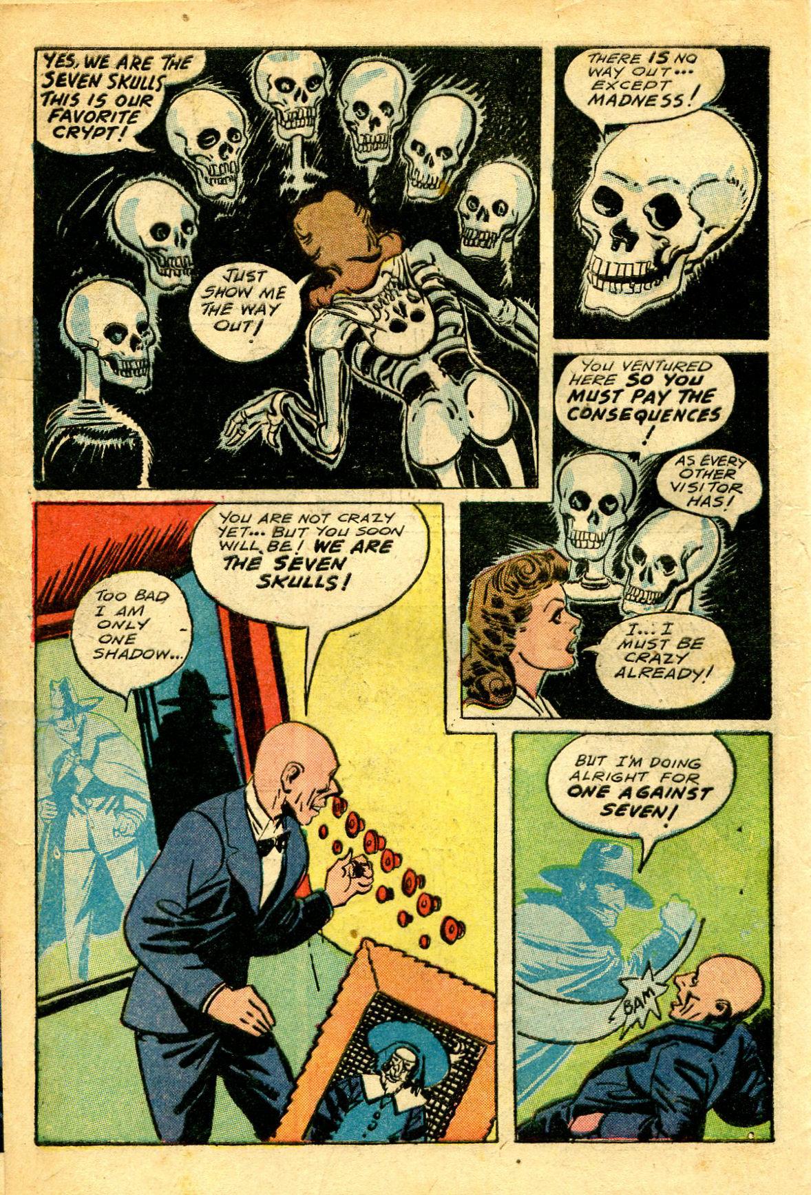 Read online Shadow Comics comic -  Issue #43 - 14