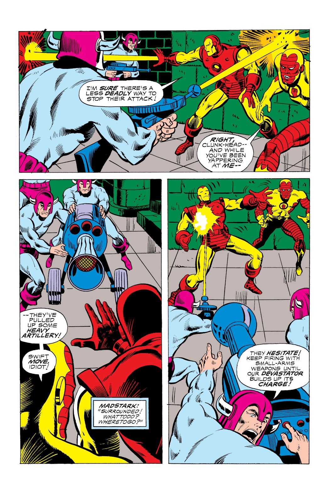 Read online Marvel Masterworks: The Invincible Iron Man comic -  Issue # TPB 10 (Part 3) - 21